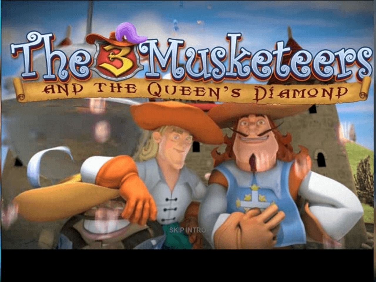 The The Three Musketeers and the Queen's Diamond (Playtech) Online Slot Demo Game by Playtech