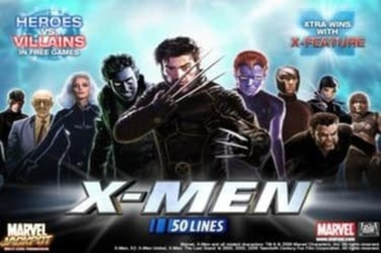 The X-man 50 lines Online Slot Demo Game by Playtech
