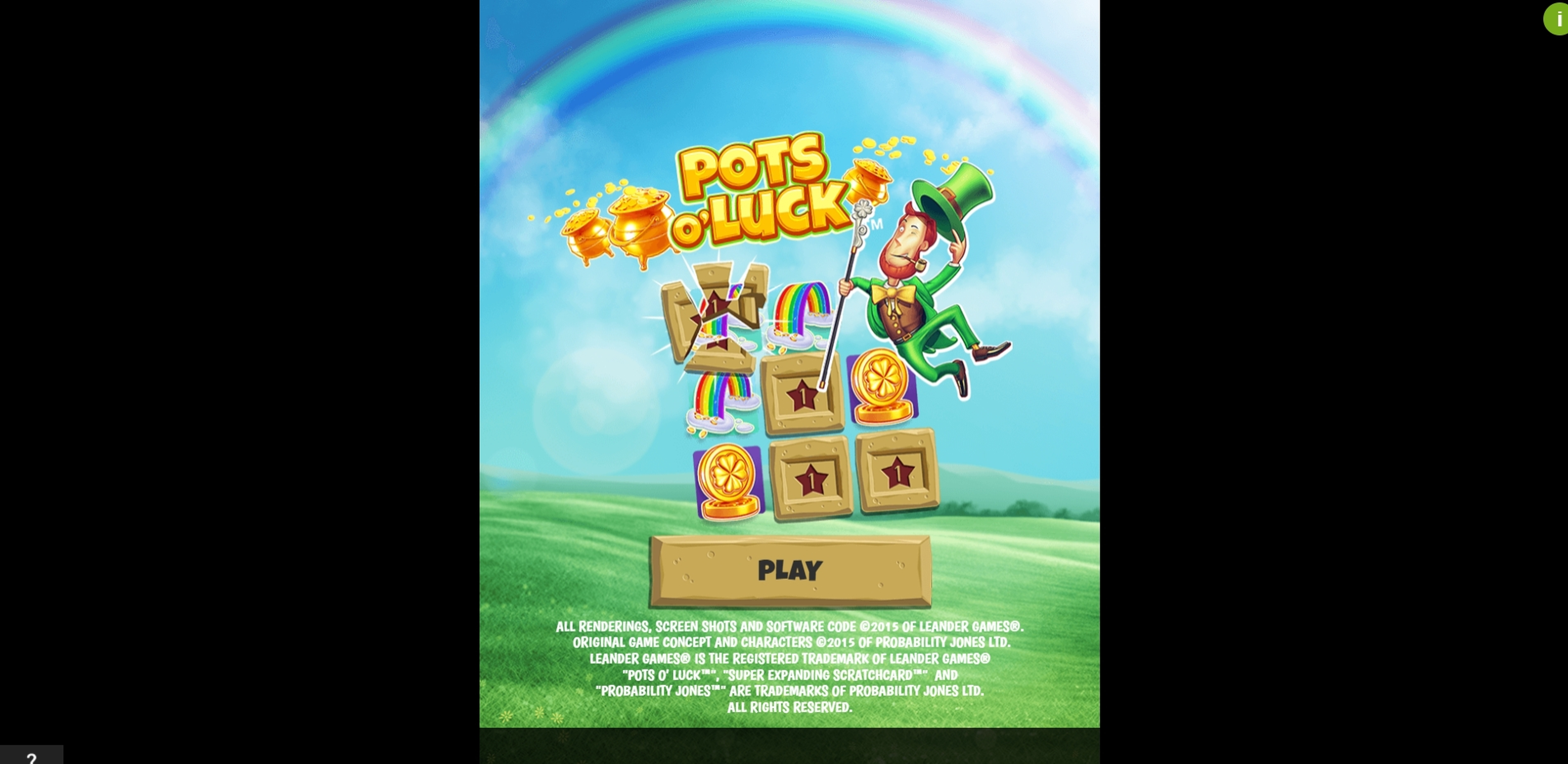 Play Pots o'Luck (Leander) Free Casino Slot Game by Probability Jones