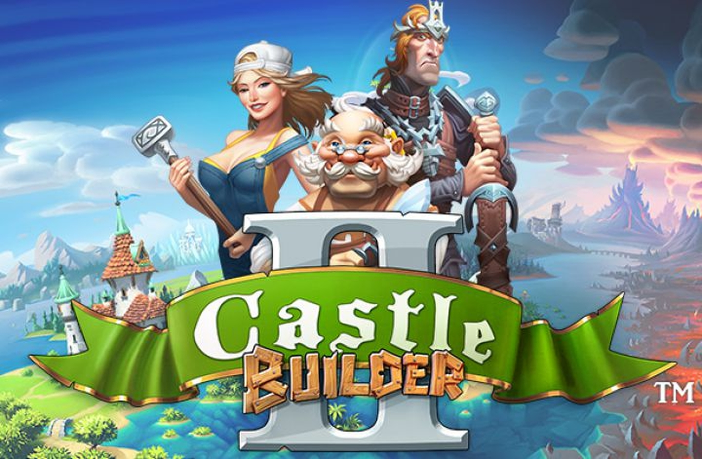 The Castle Builder II Online Slot Demo Game by Rabcat