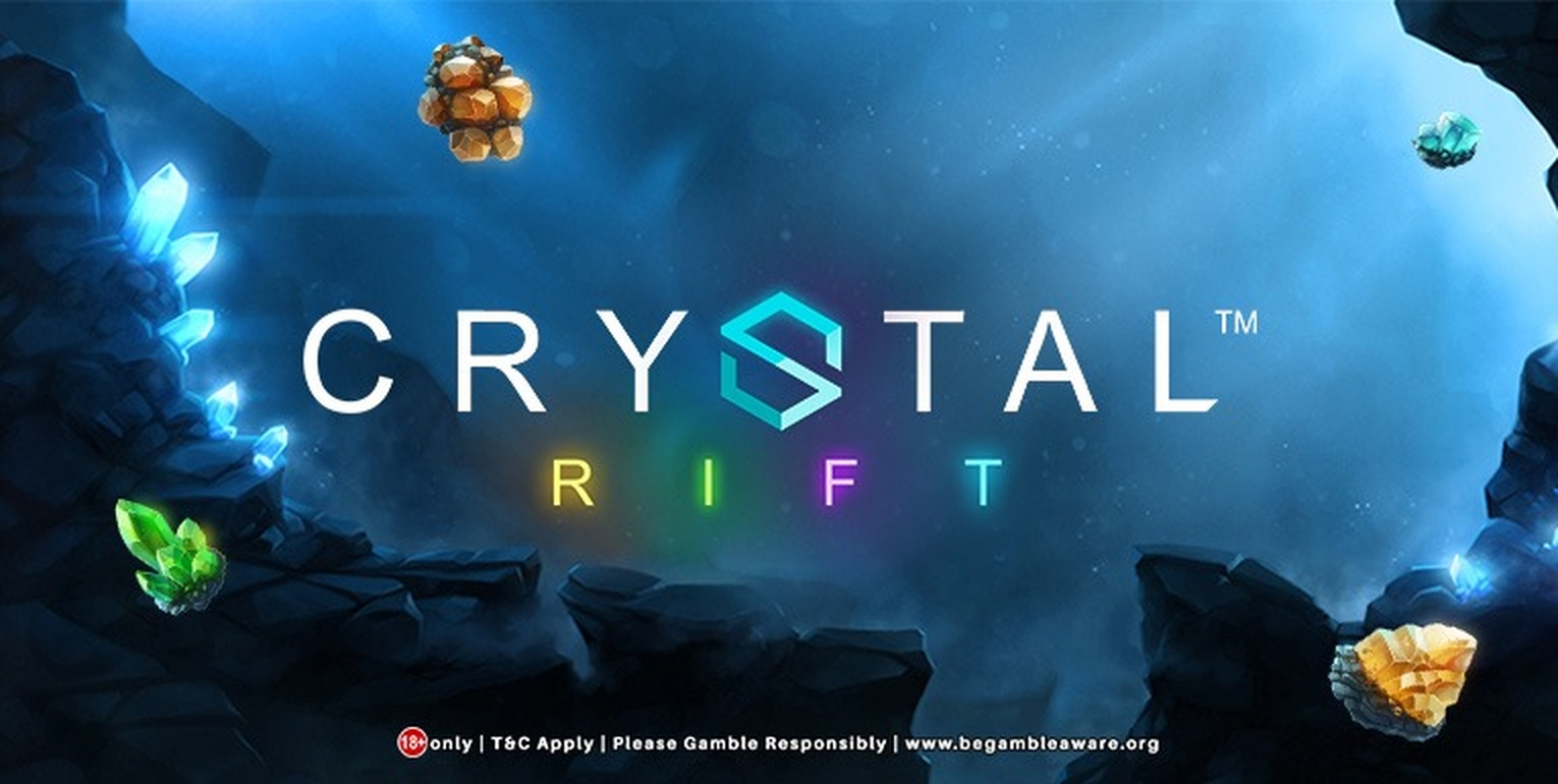 The Crystal Rift Online Slot Demo Game by Rabcat