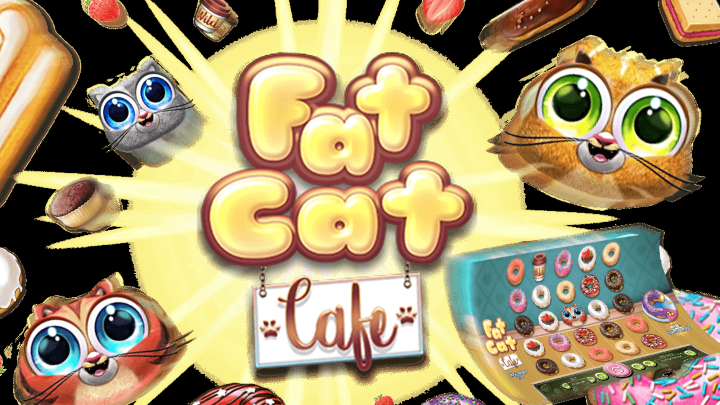 The Fat Cat Cafe Online Slot Demo Game by Real Time Gaming