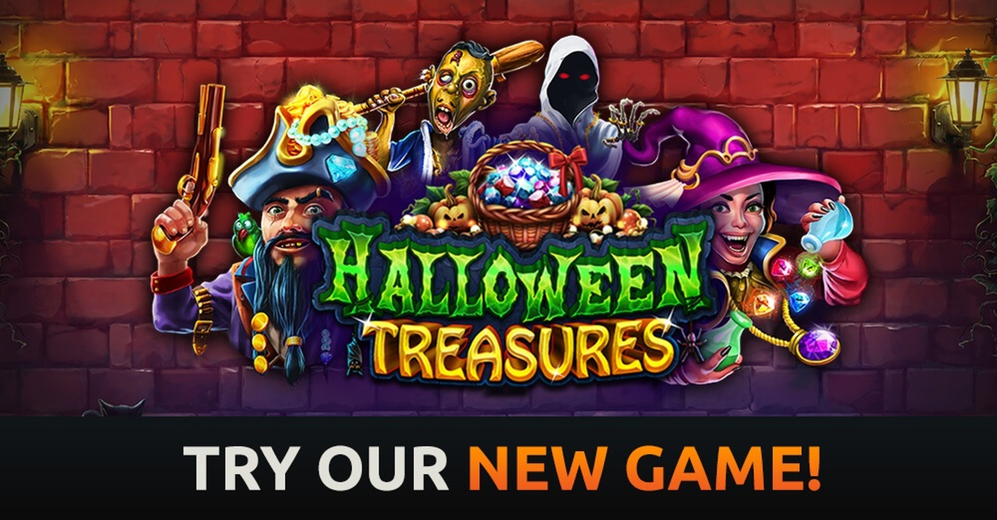 The Halloween Treasures Online Slot Demo Game by Real Time Gaming