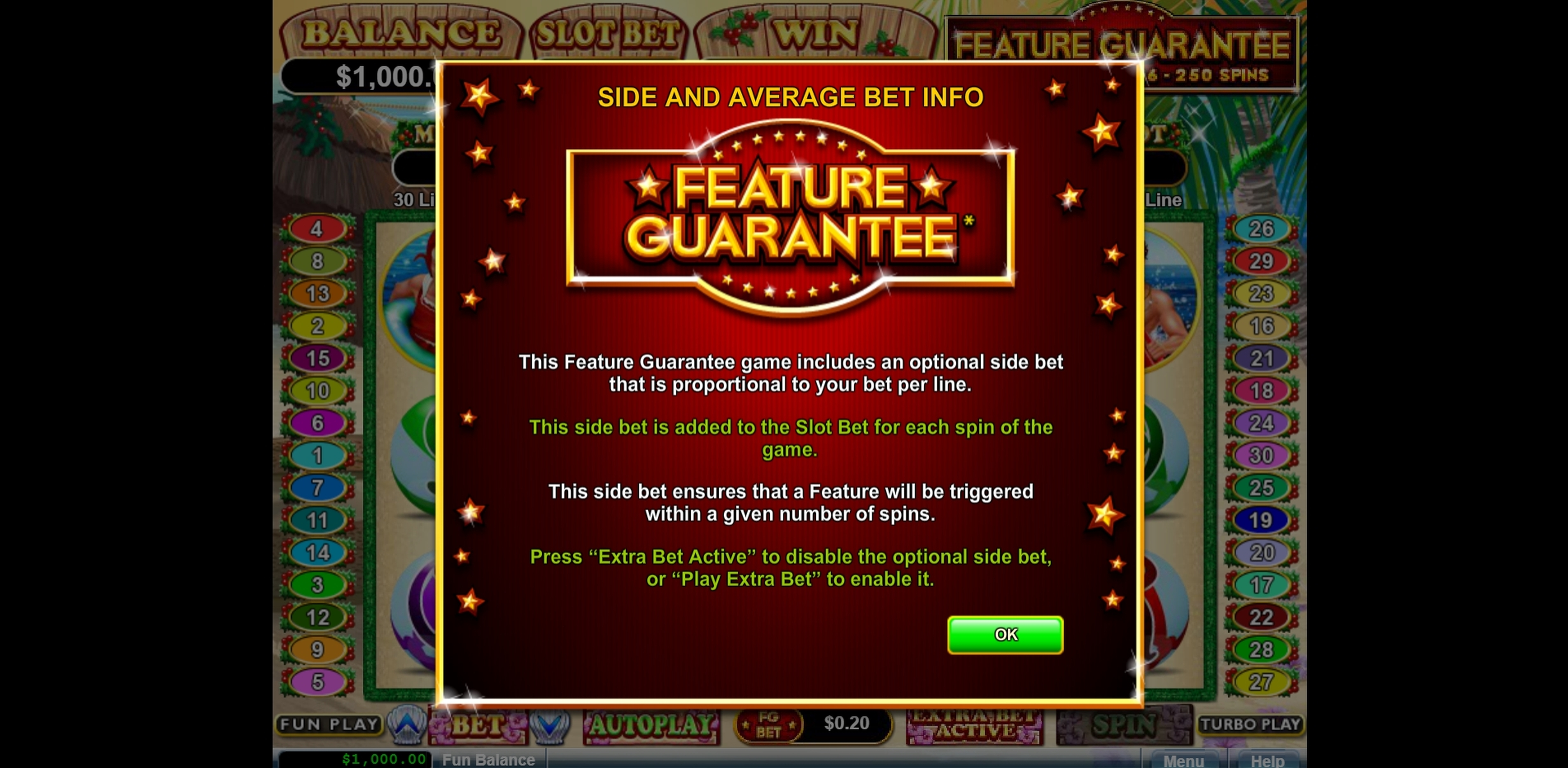 Play Naughty or Nice Spring Break Free Casino Slot Game by Real Time Gaming