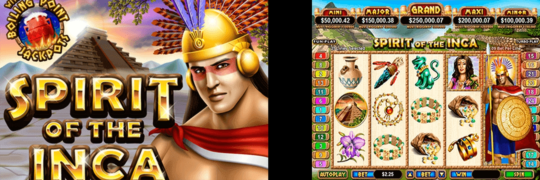 The Spirit of the Inca Online Slot Demo Game by Real Time Gaming