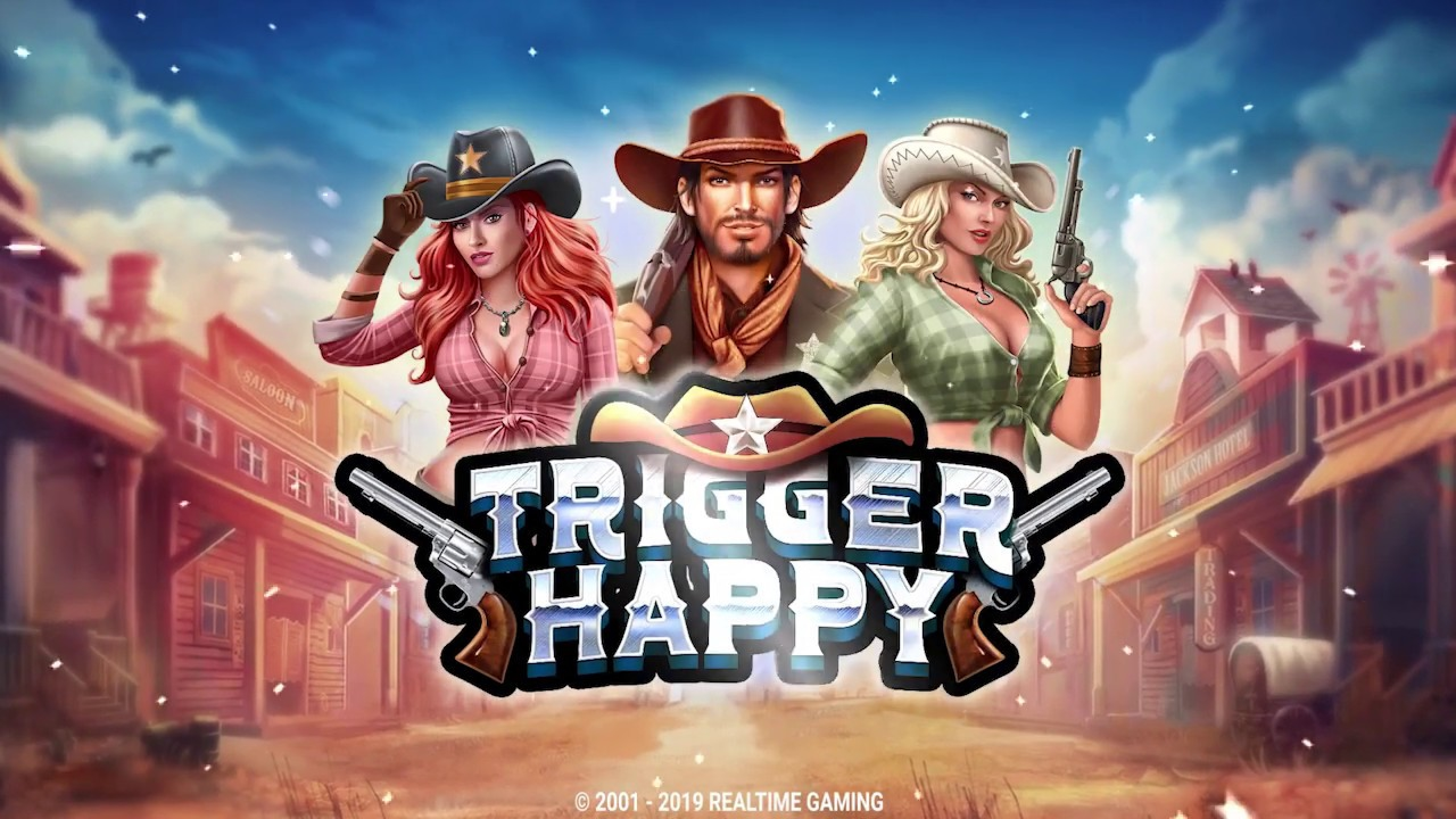The Trigger Happy Online Slot Demo Game by Real Time Gaming