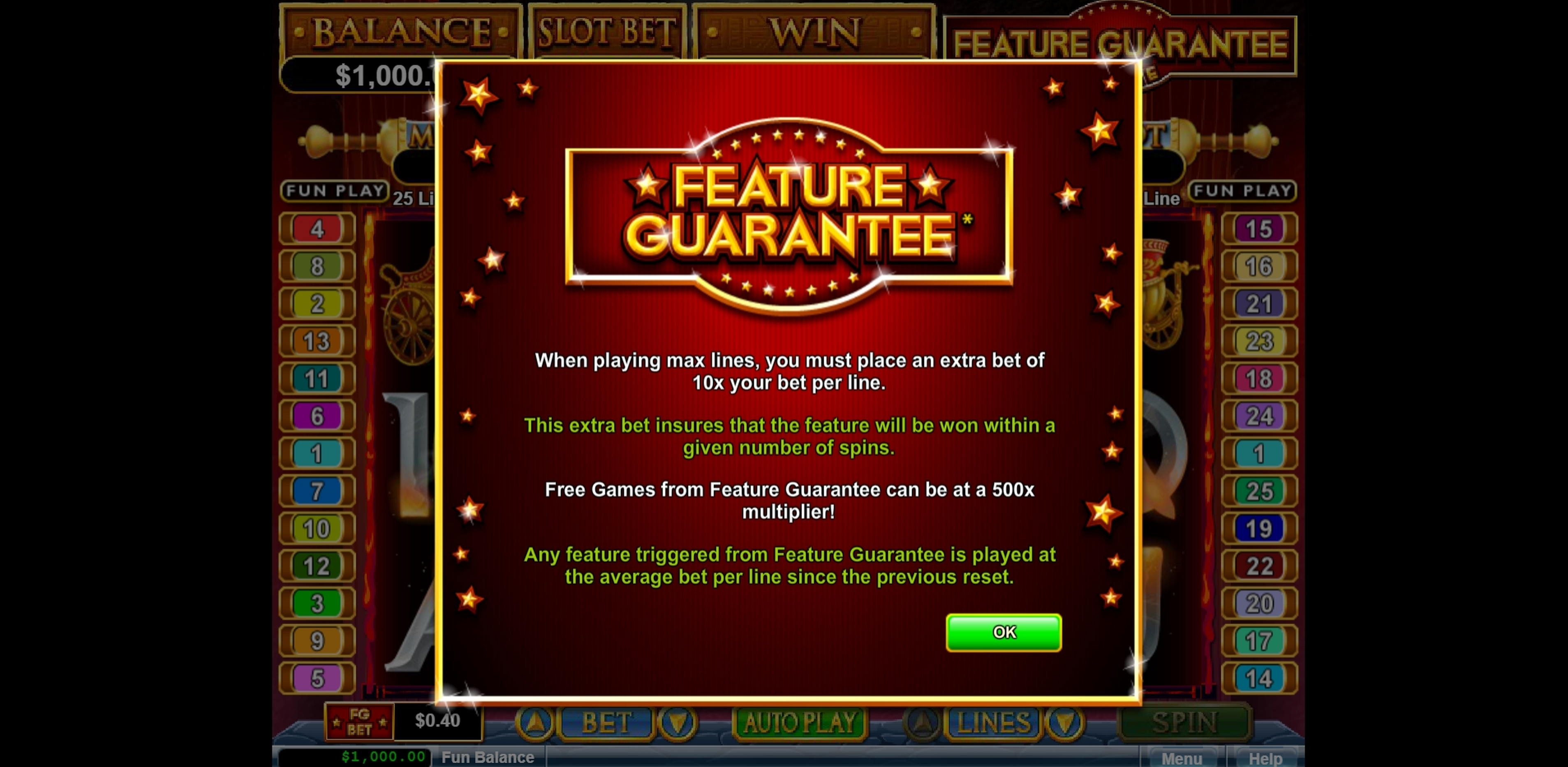 Play Vulcan Free Casino Slot Game by Real Time Gaming