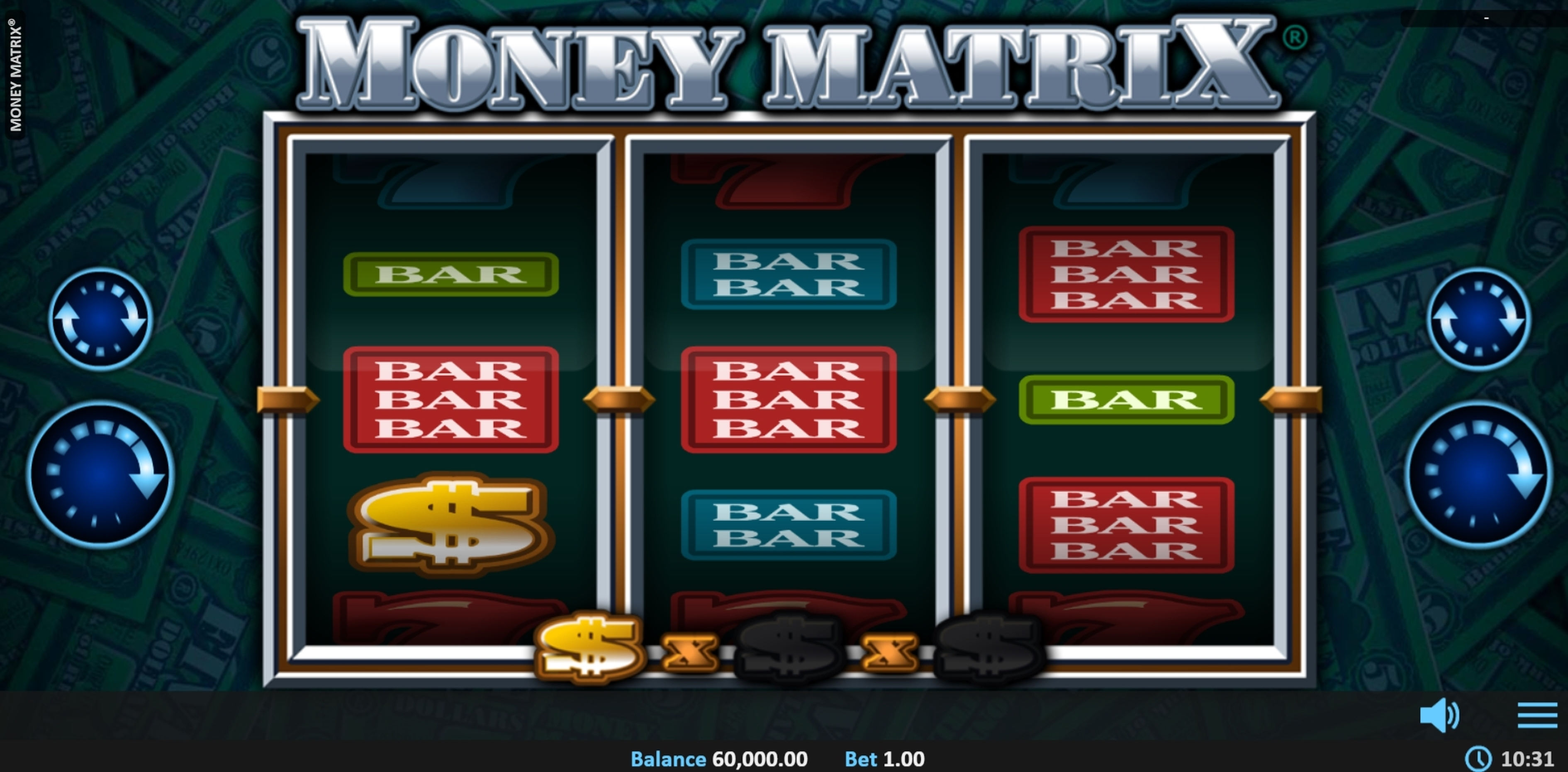 Reels in Money Matrix Slot Game by Realistic Games