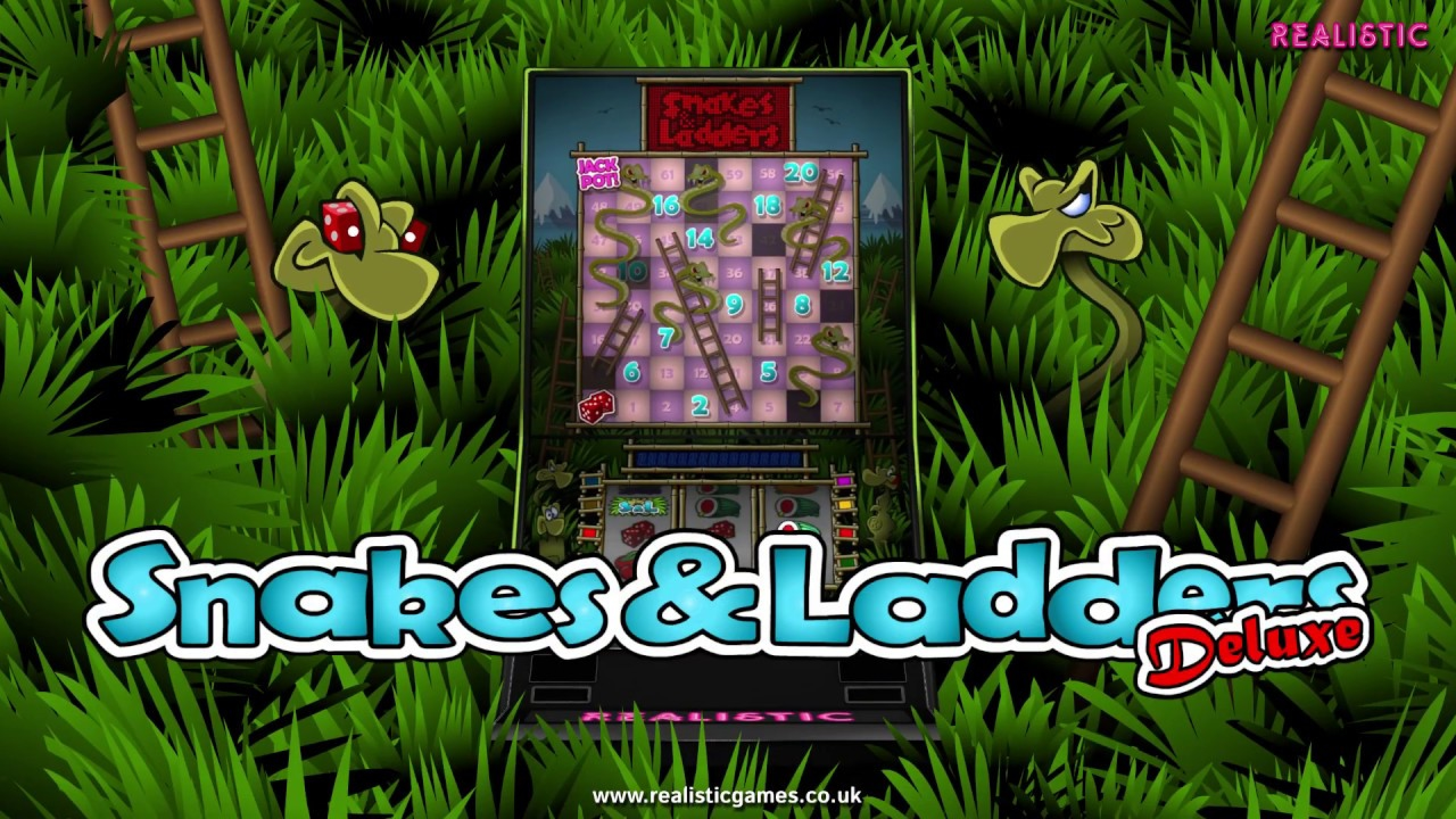 The Snakes & Ladders Deluxe Online Slot Demo Game by Realistic Games