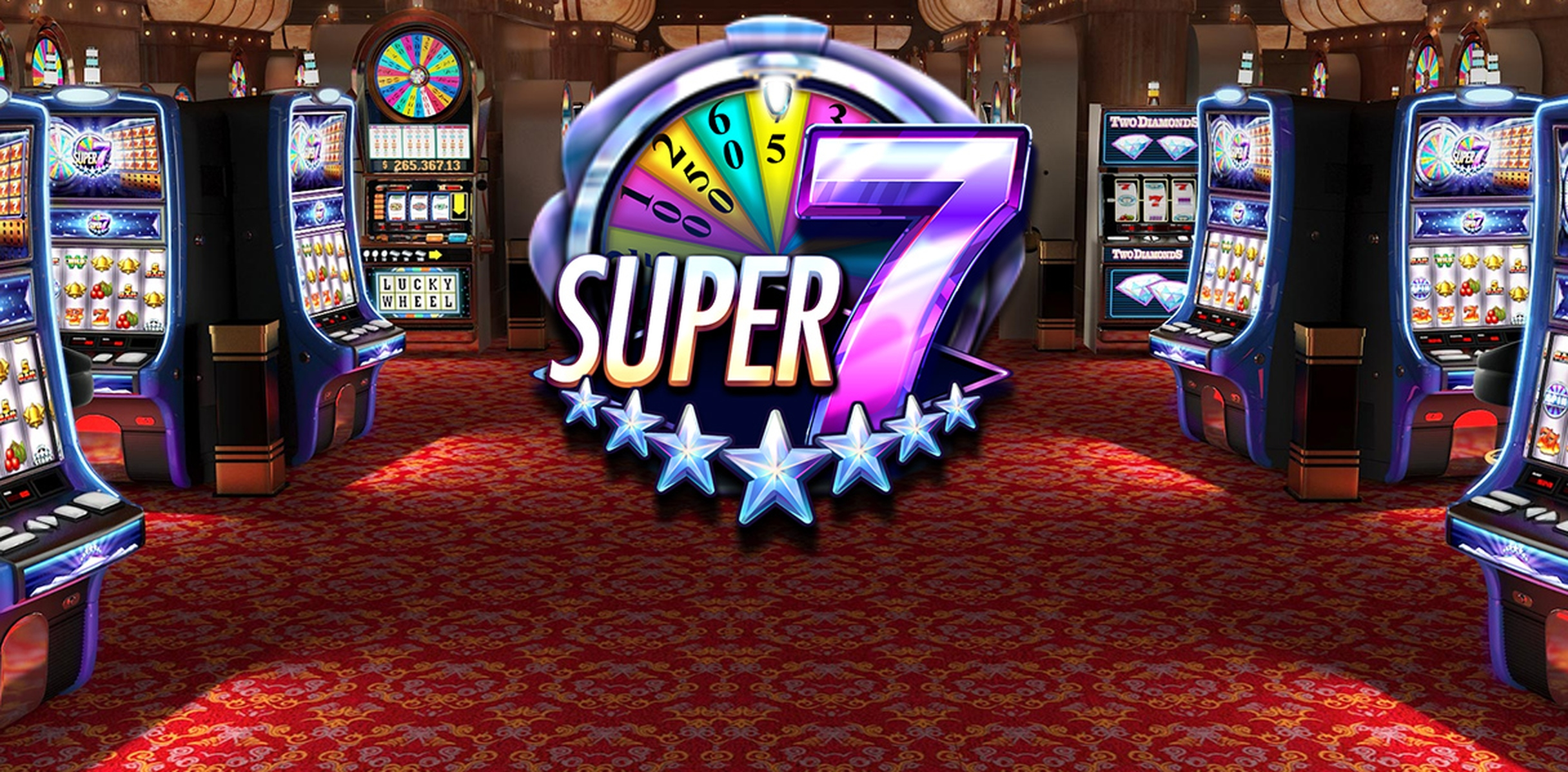 The Super 7 Stars Online Slot Demo Game by Red Rake Gaming