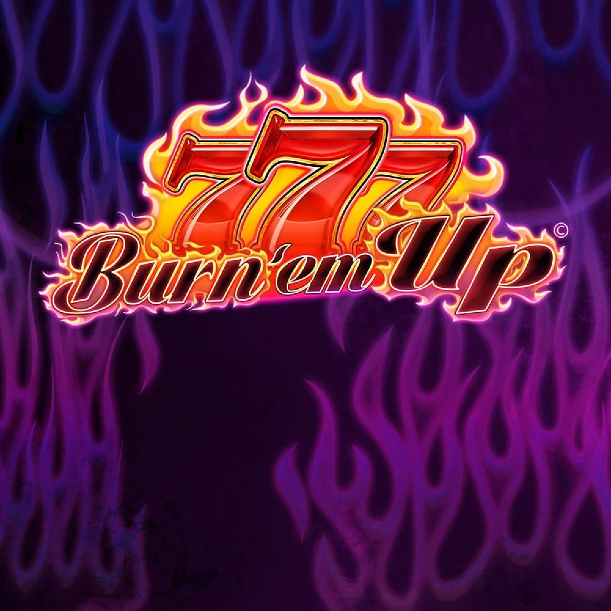 The 777 Burn' Em Up Online Slot Demo Game by Red7 Mobile