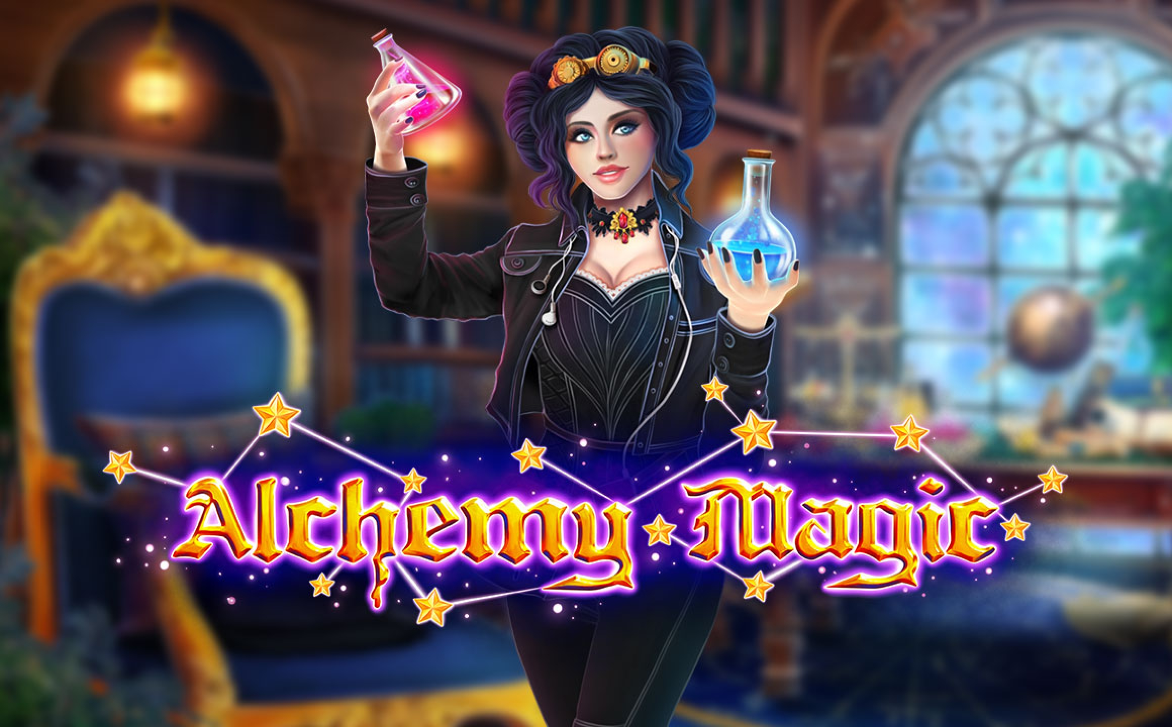 Reels in Alchemy Magic Slot Game by ReelNRG Gaming