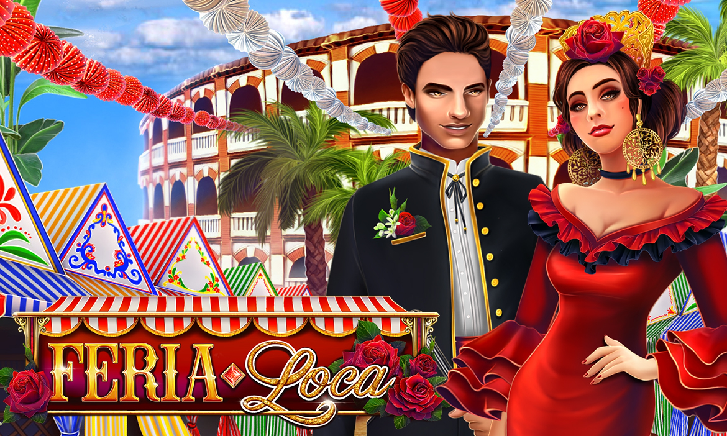 Reels in Feria Loca Slot Game by ReelNRG Gaming