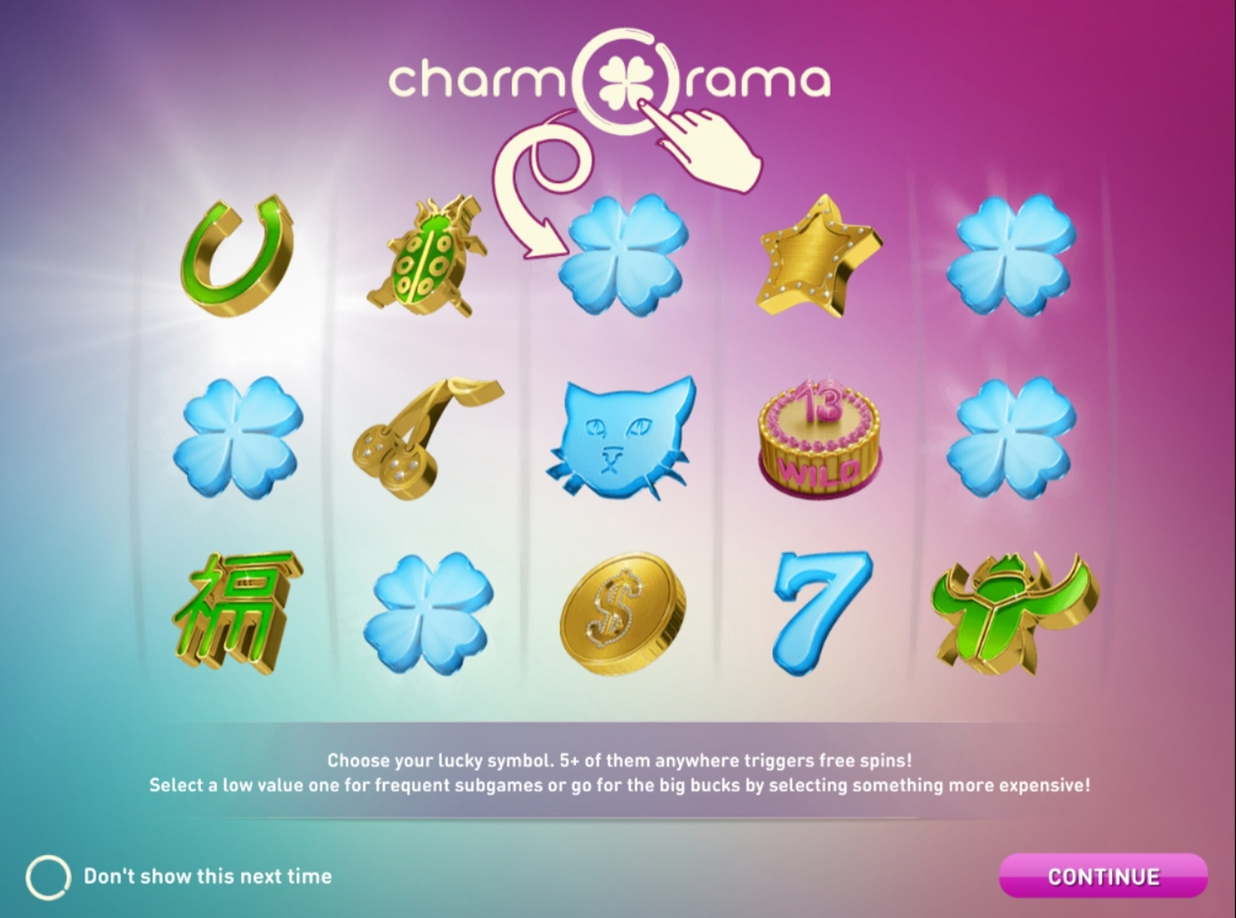Play Charmorama Free Casino Slot Game by Relax Gaming