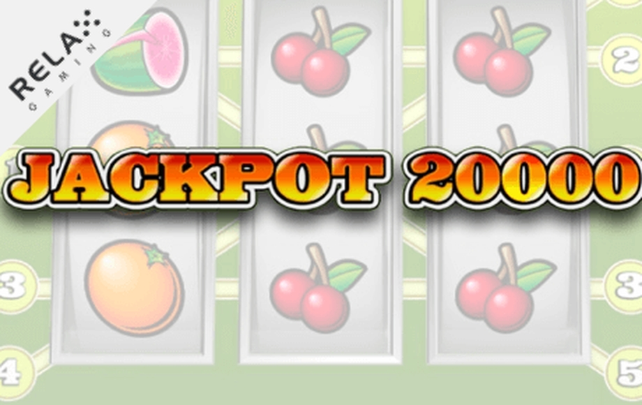 The Jackpot 20000 Online Slot Demo Game by Relax Gaming