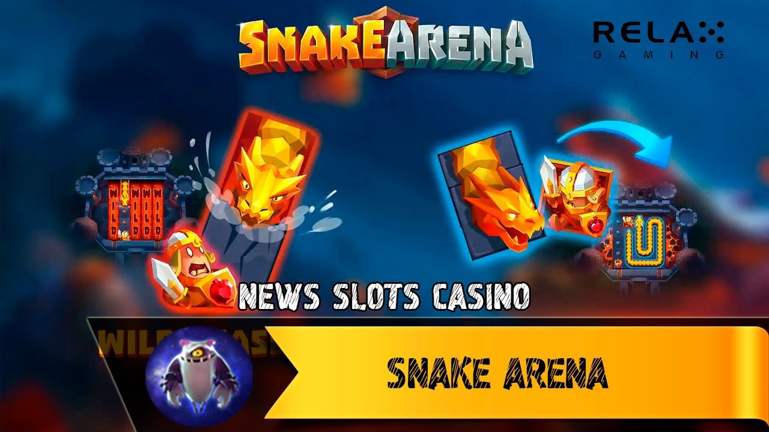 The Snake Arena Online Slot Demo Game by Relax Gaming