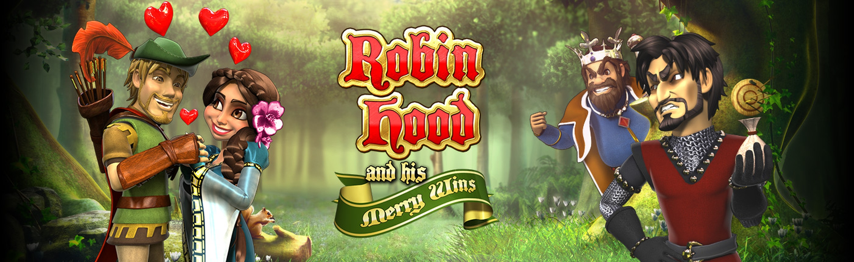The Robin Hood and his Merry Wins Online Slot Demo Game by Revolver Gaming