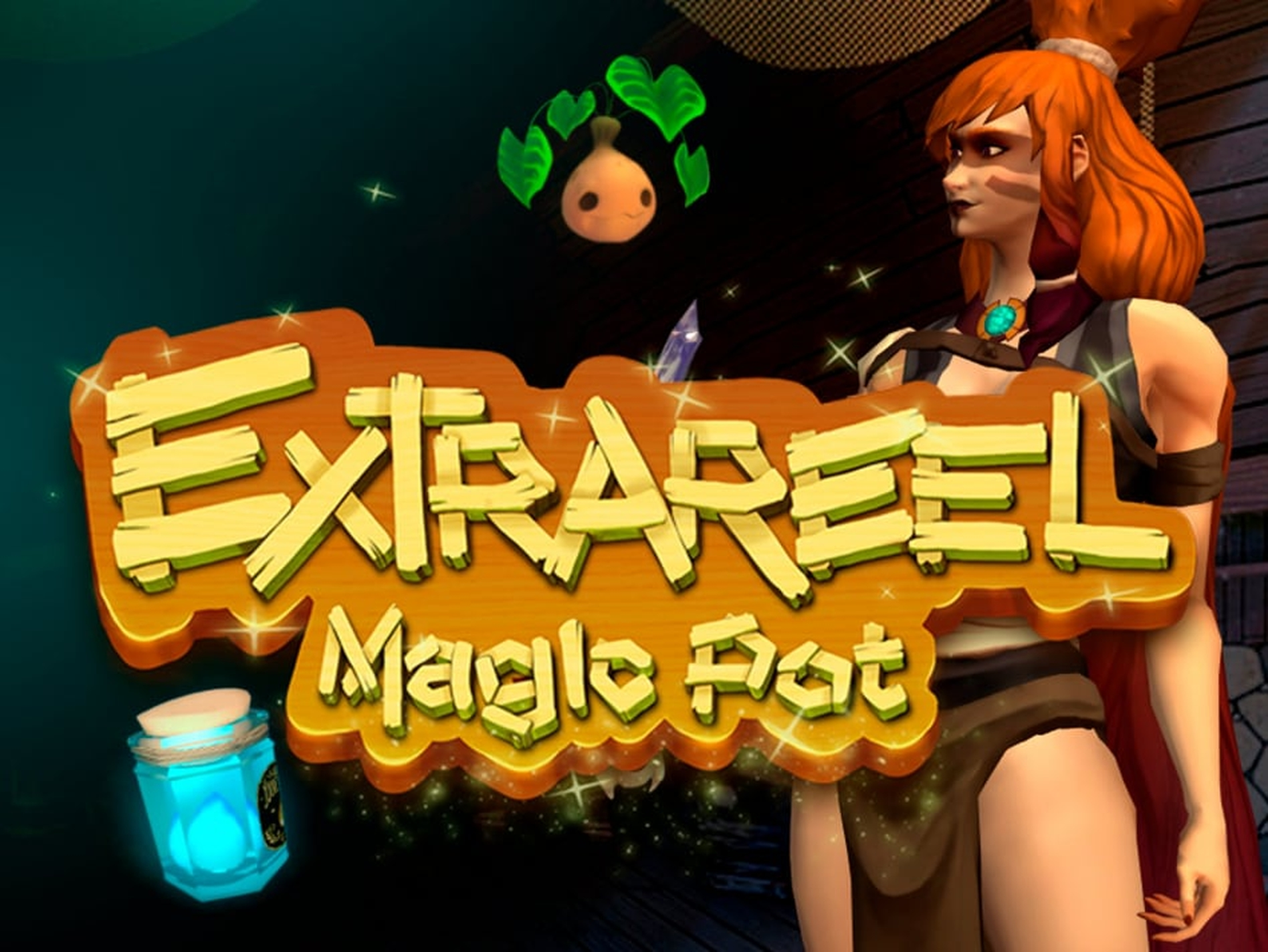 Reels in ExtraReel Magic Pot Slot Game by R. Franco