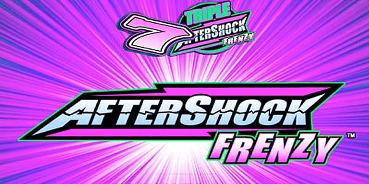 The AfterShock Frenzy Online Slot Demo Game by WMS