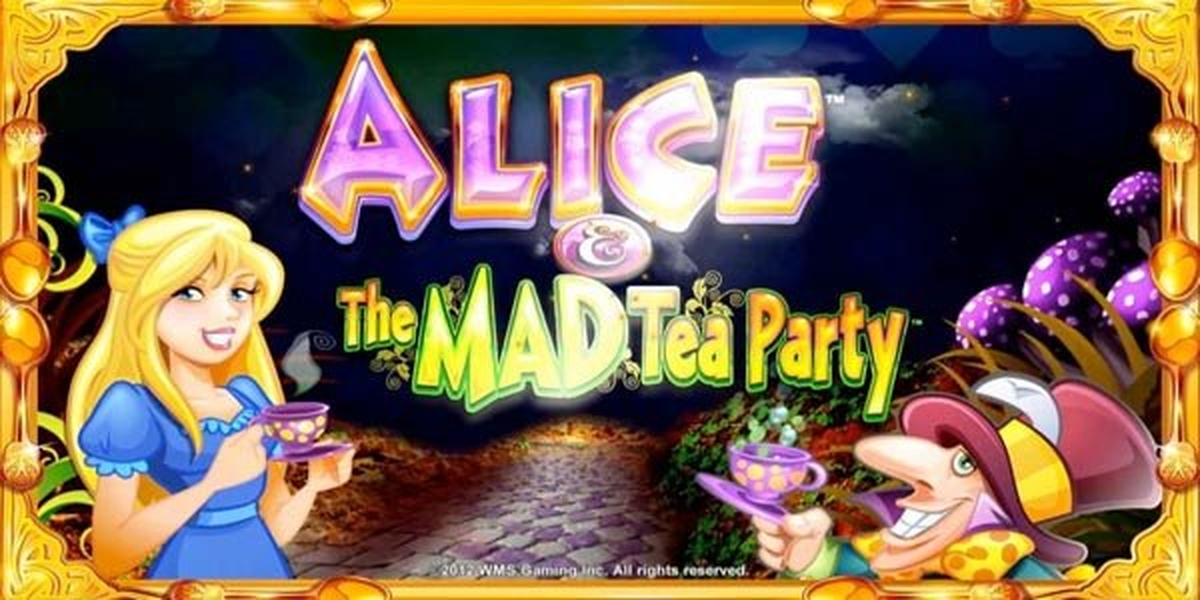 The Alice & The Mad Tea Party Online Slot Demo Game by WMS