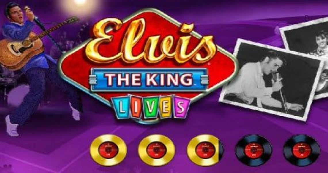 The ELVIS: THE KING Lives Online Slot Demo Game by WMS
