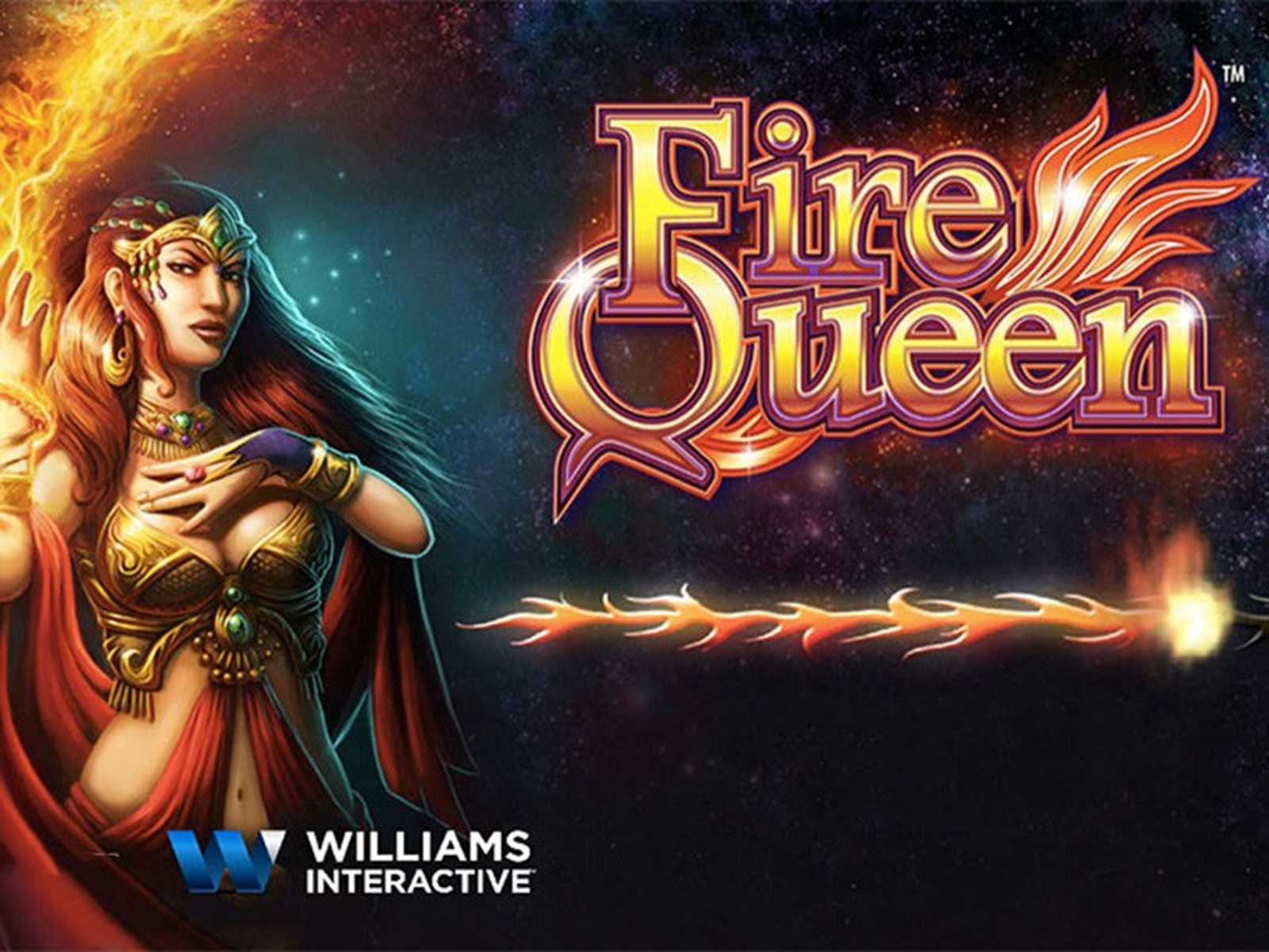 The Fire Queen (WMS) Online Slot Demo Game by WMS