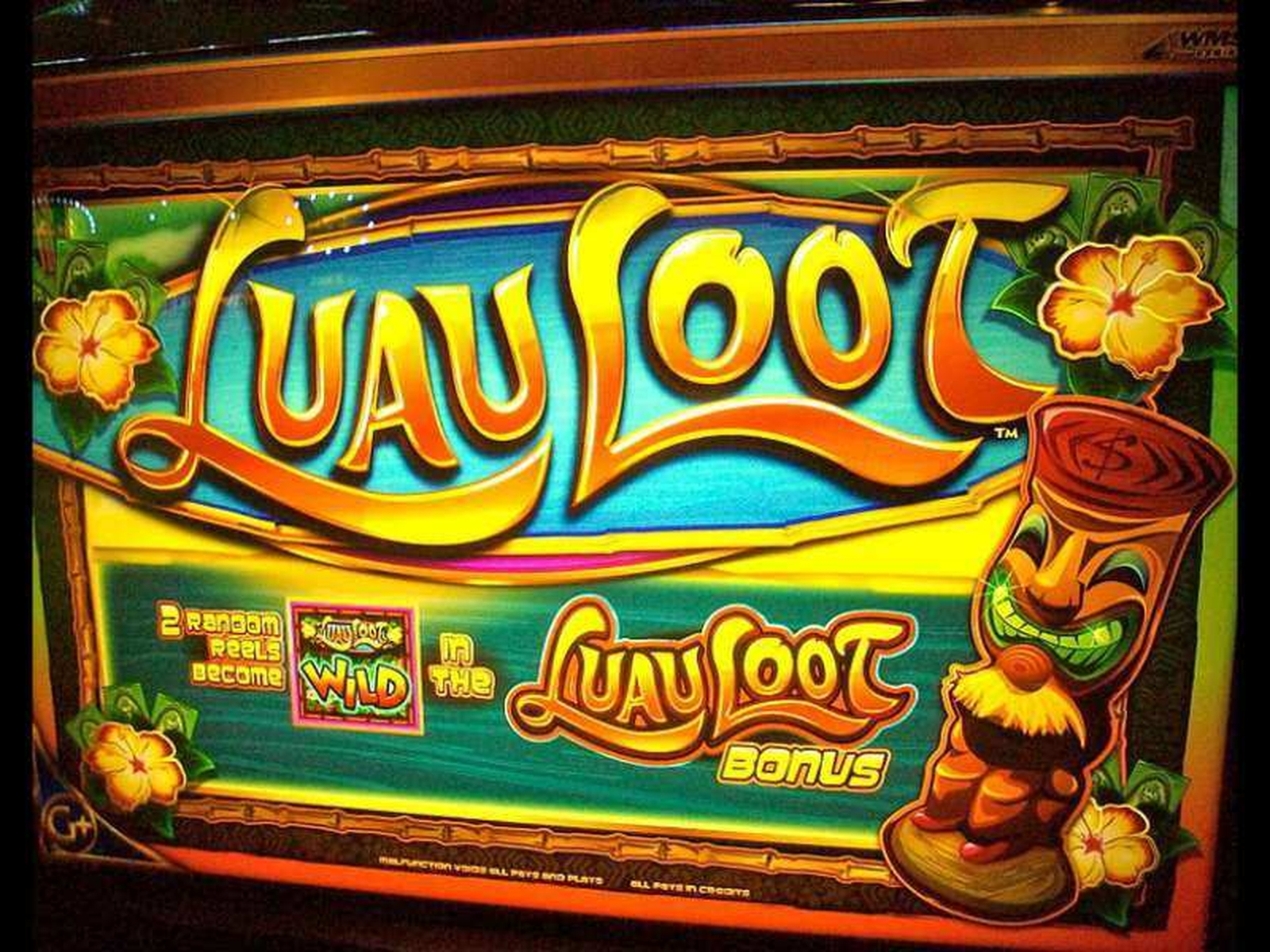 The Luau Loot Online Slot Demo Game by WMS