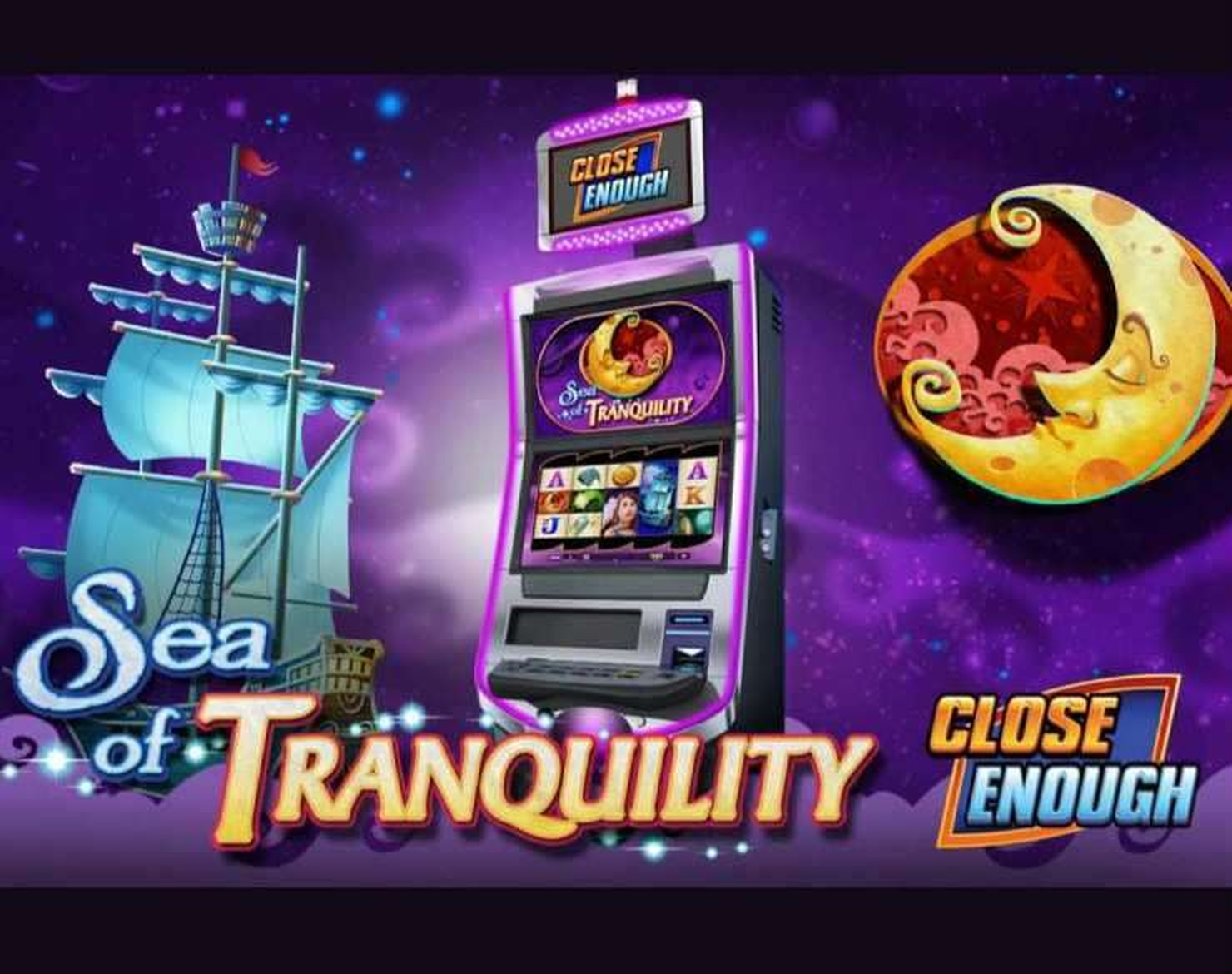 The Sea of Tranquility Online Slot Demo Game by WMS