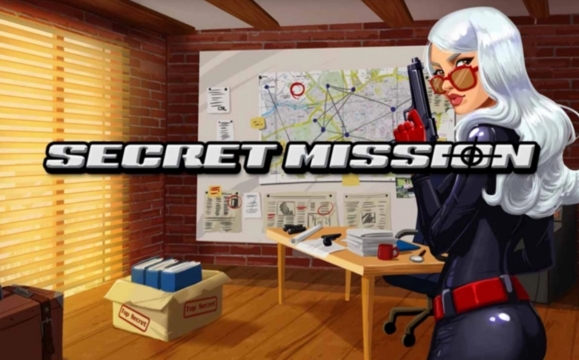 The Secret Mission Online Slot Demo Game by WMS