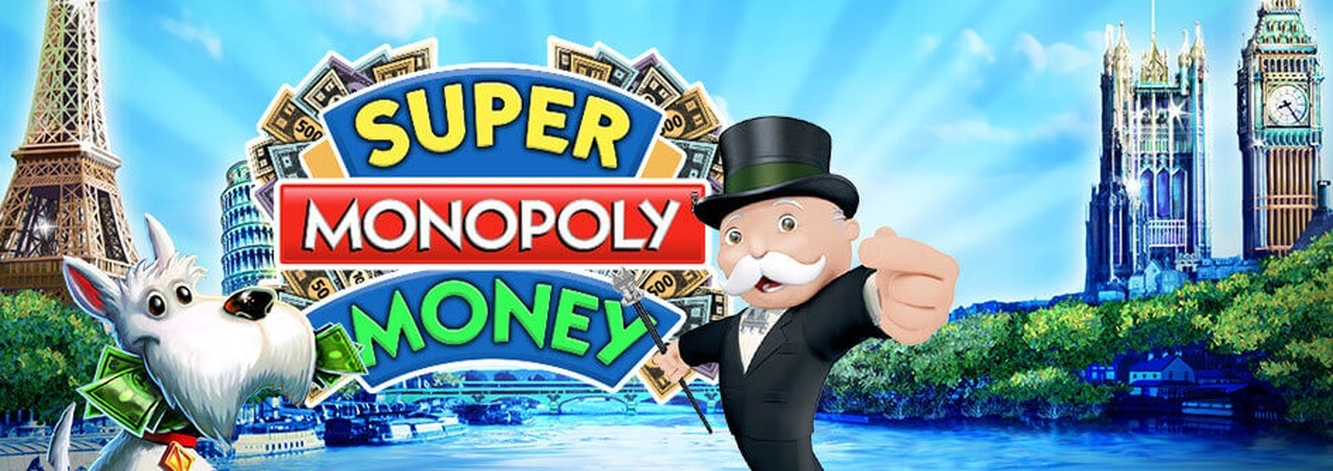 The Super MONOPOLY Money Online Slot Demo Game by WMS