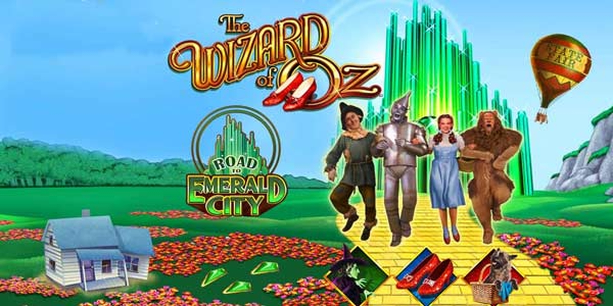 The Wizard of Oz Road to Emerald City Online Slot Demo Game by WMS
