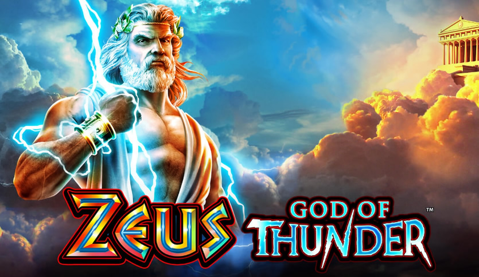 The Zeus God of Thunder Online Slot Demo Game by WMS