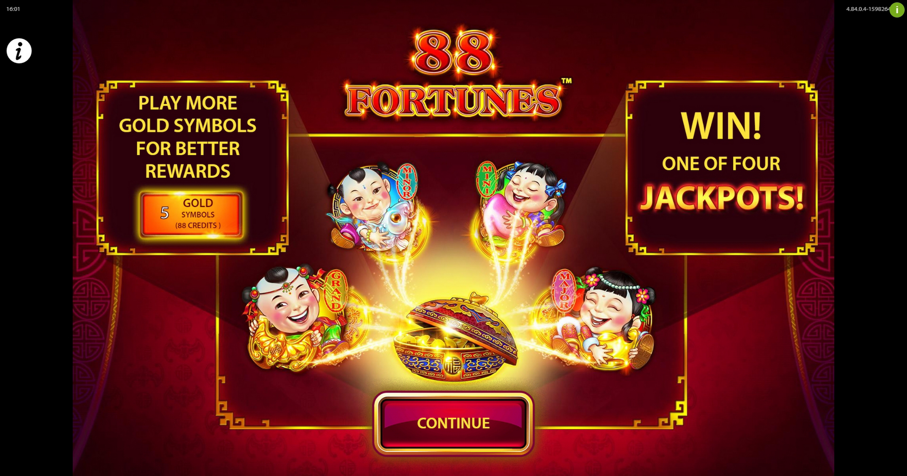 Play 88 Fortunes Free Casino Slot Game by SG