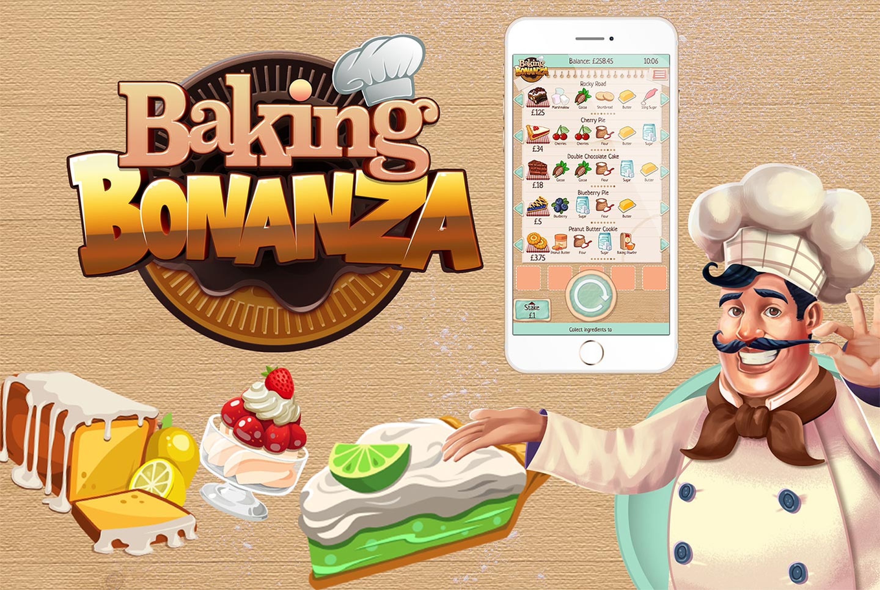 The Baking Bonanza Online Slot Demo Game by Slingo