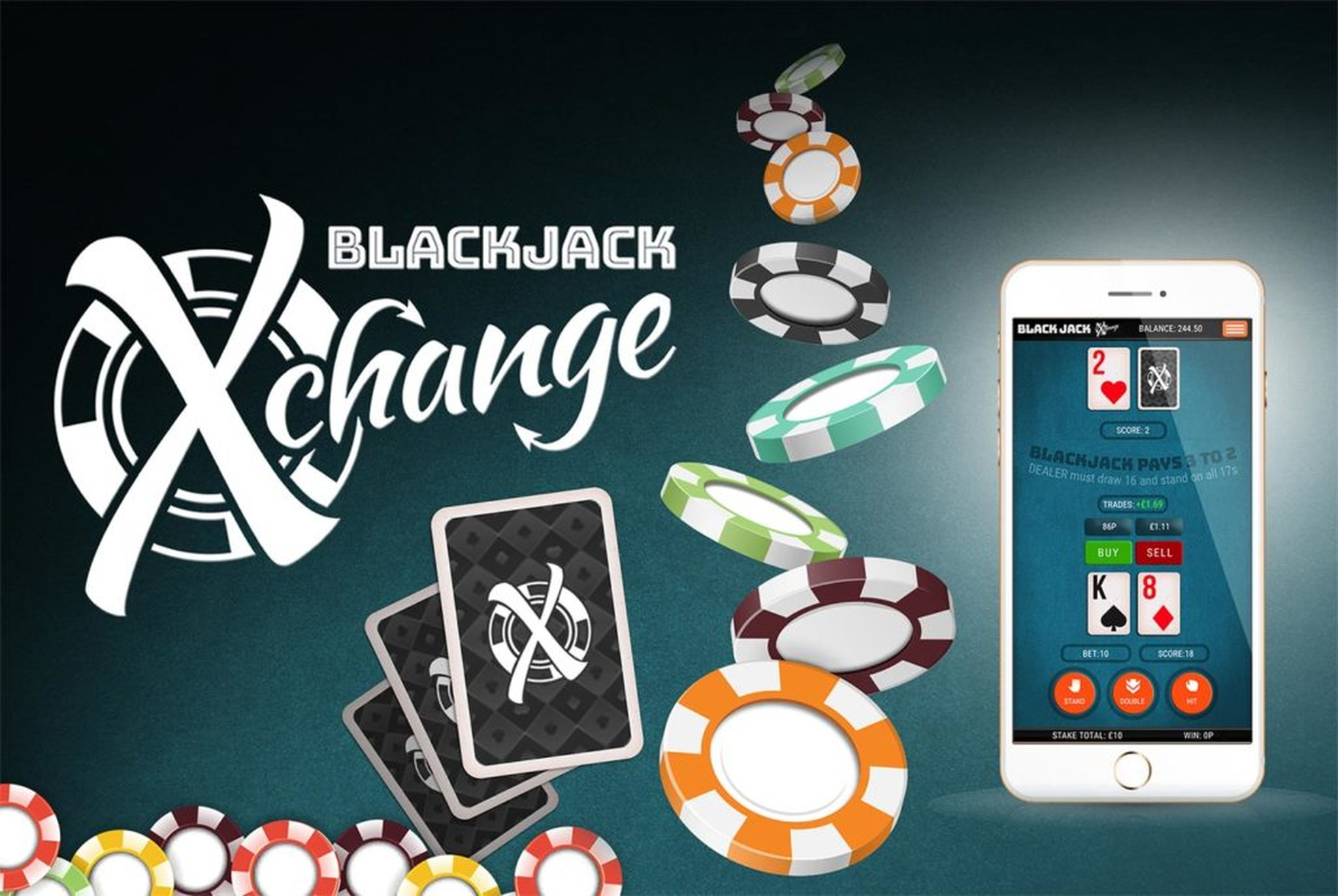 The Blackjack X-Change Online Slot Demo Game by Slingo