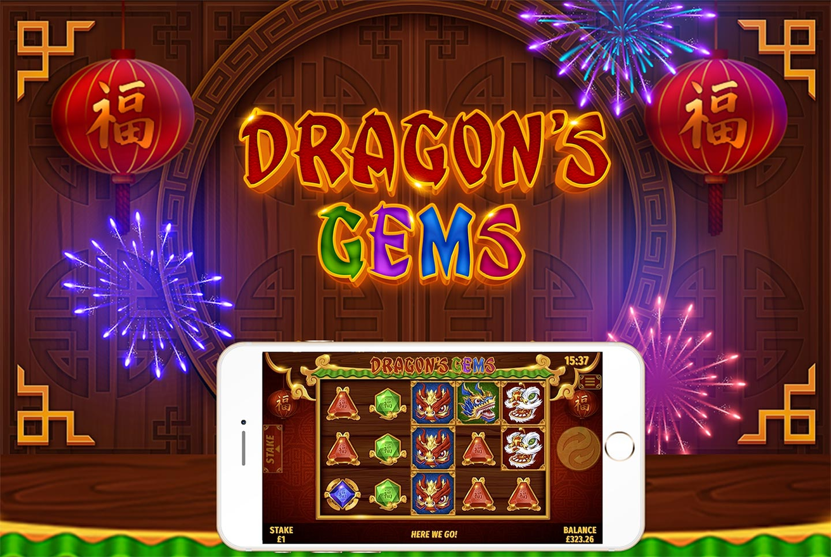 The Dragons Gems Online Slot Demo Game by Slingo