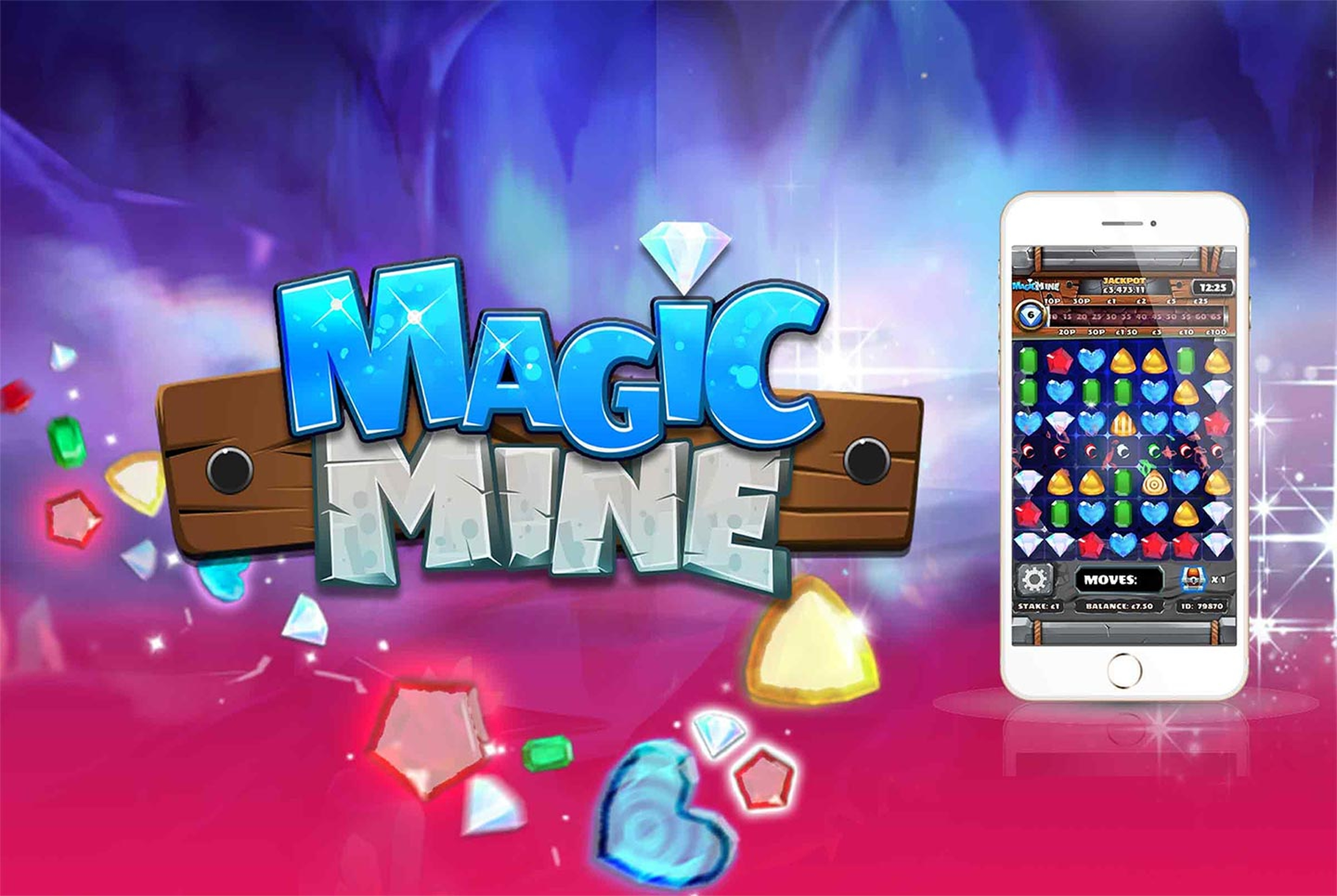 The Magic Mine Online Slot Demo Game by Slingo
