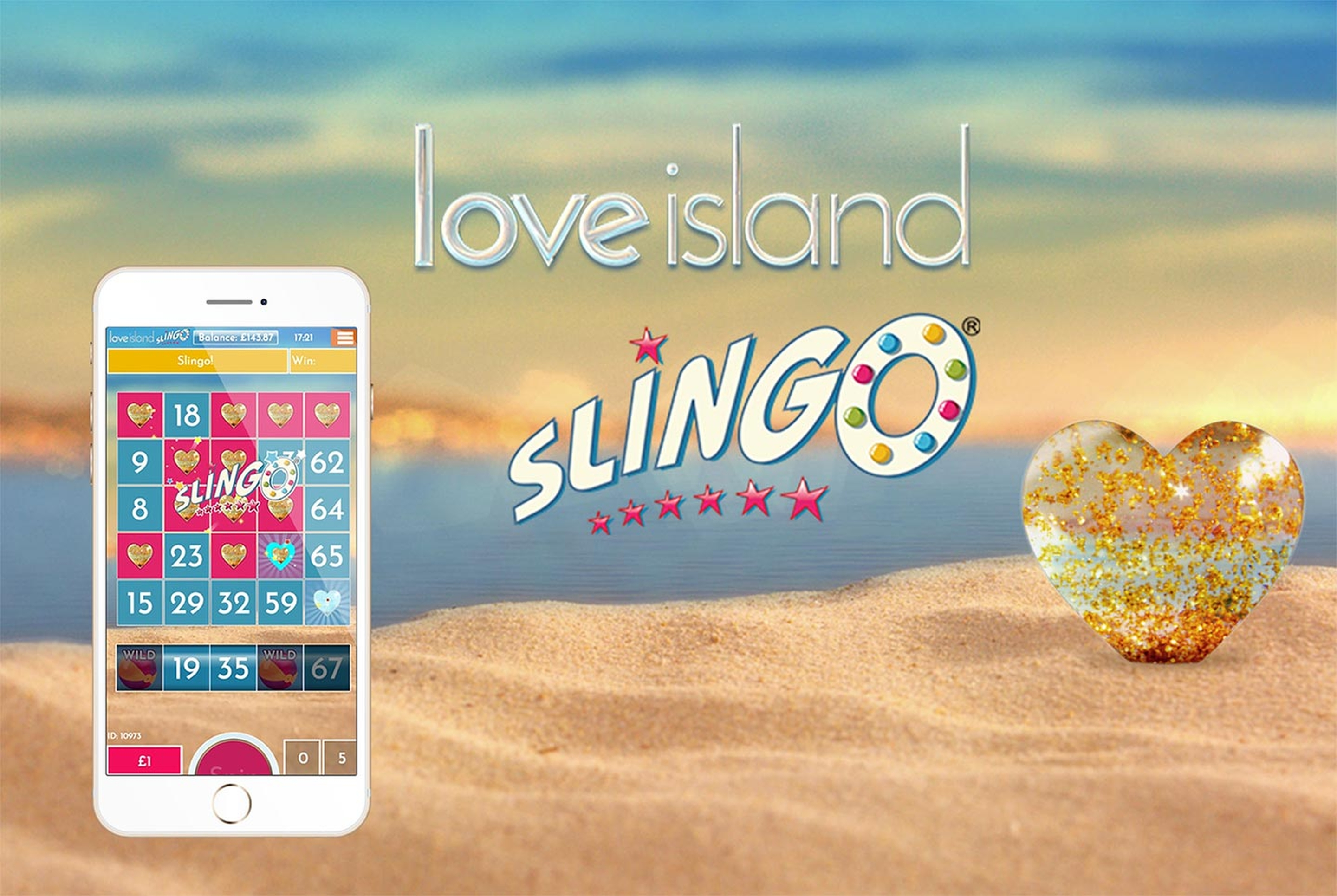 The Slingo Love Island Online Slot Demo Game by Slingo