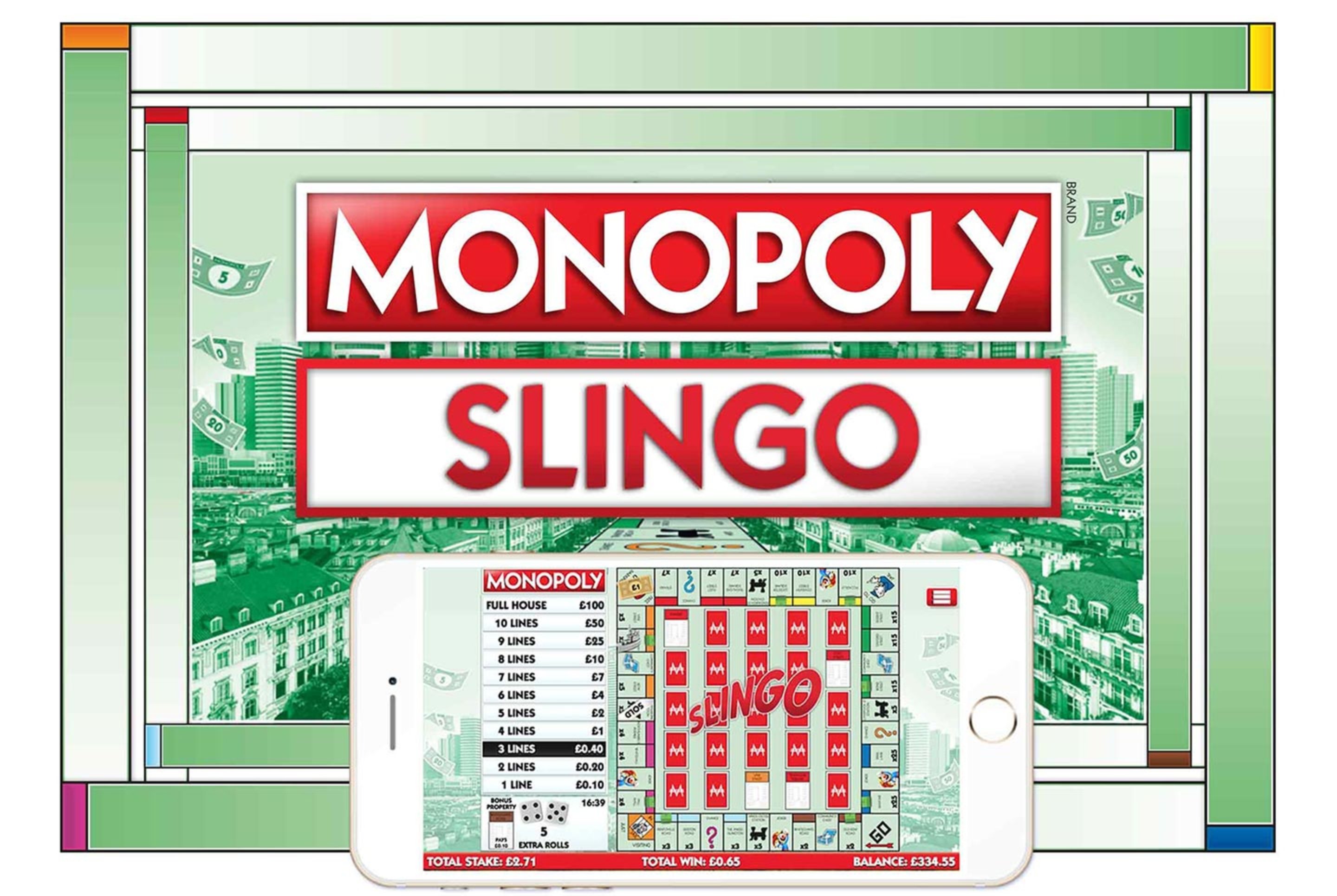 The Slingo Monopoly Online Slot Demo Game by Slingo