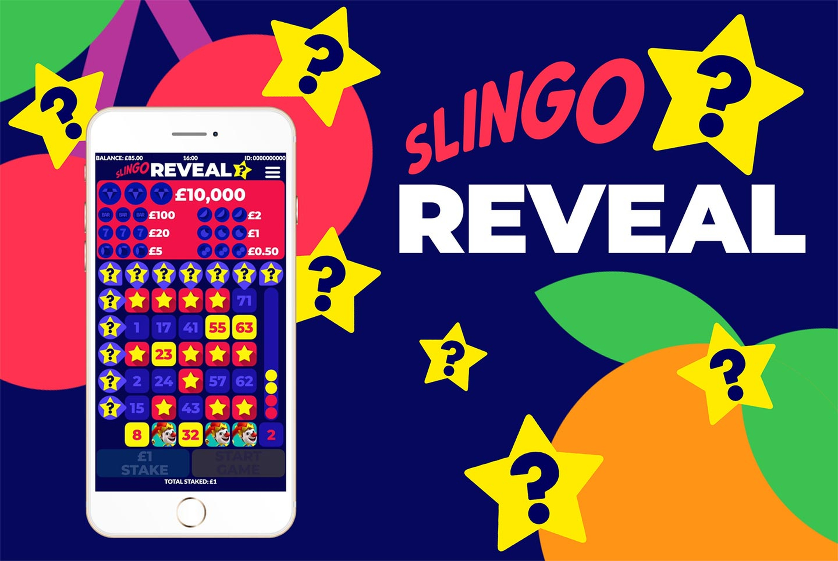 The Slingo Reveal Online Slot Demo Game by Slingo