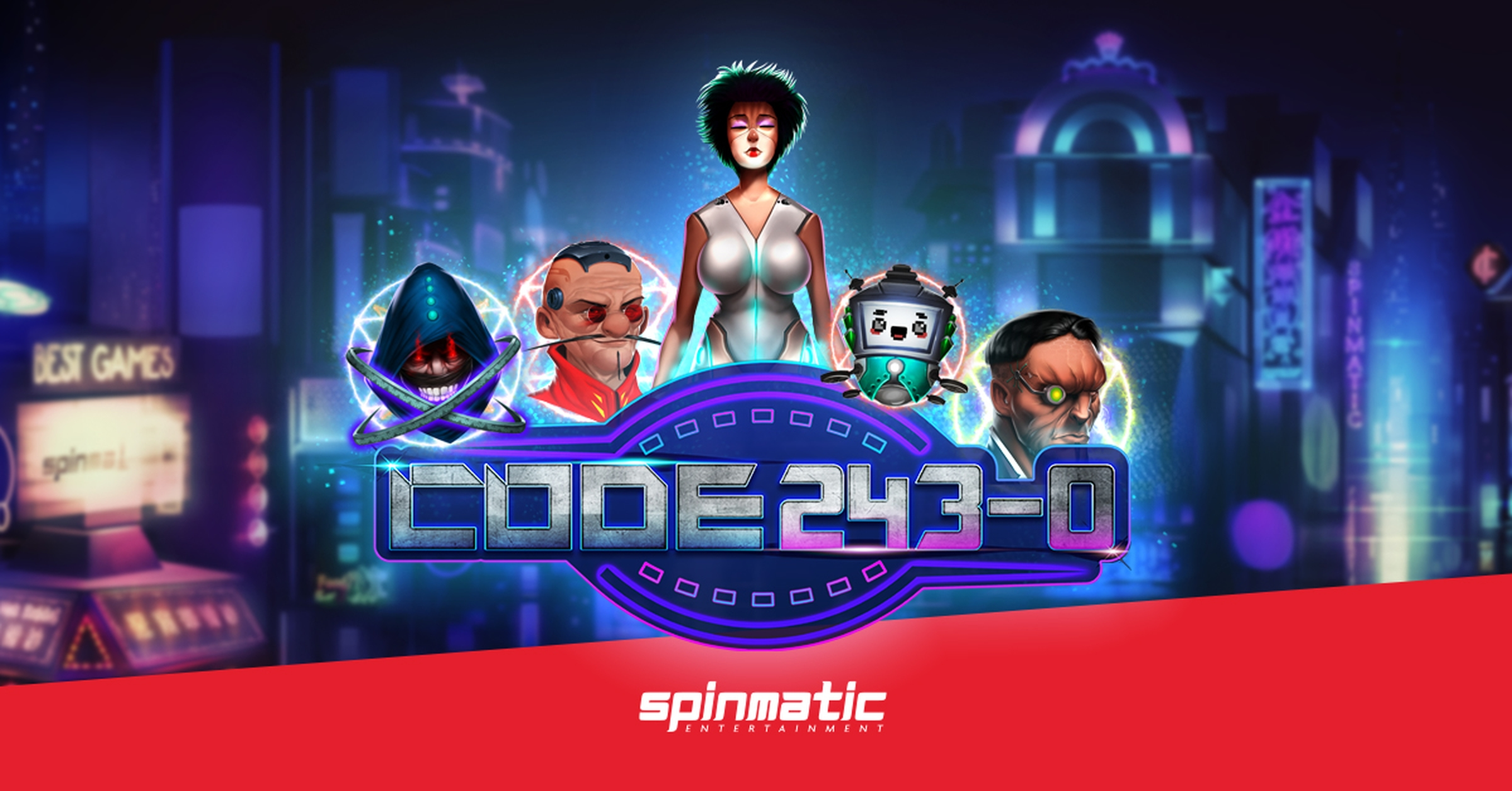 The Code 243-0 Online Slot Demo Game by Spinmatic