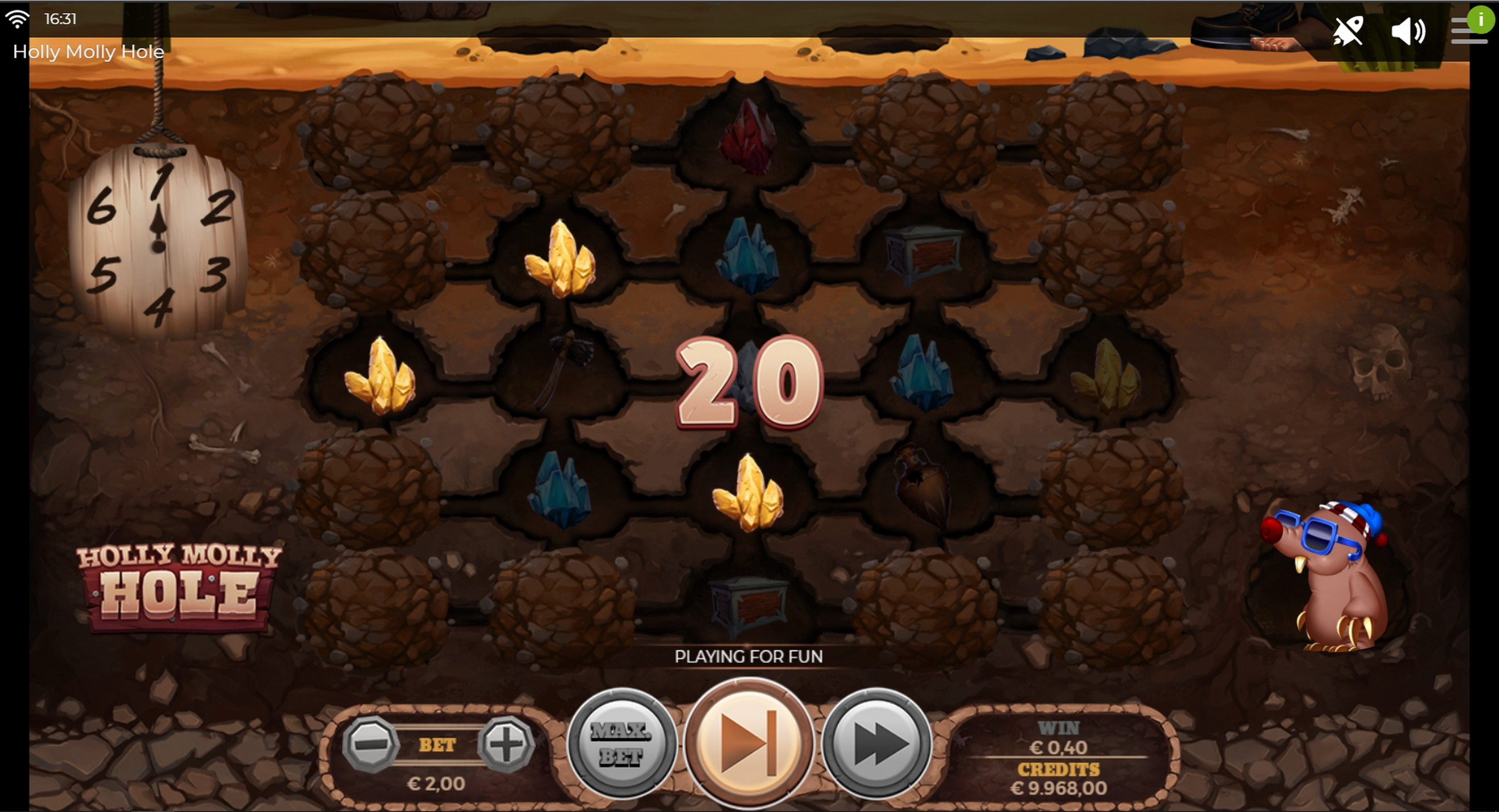 Win Money in Holly Molly Hole Free Slot Game by Spinmatic