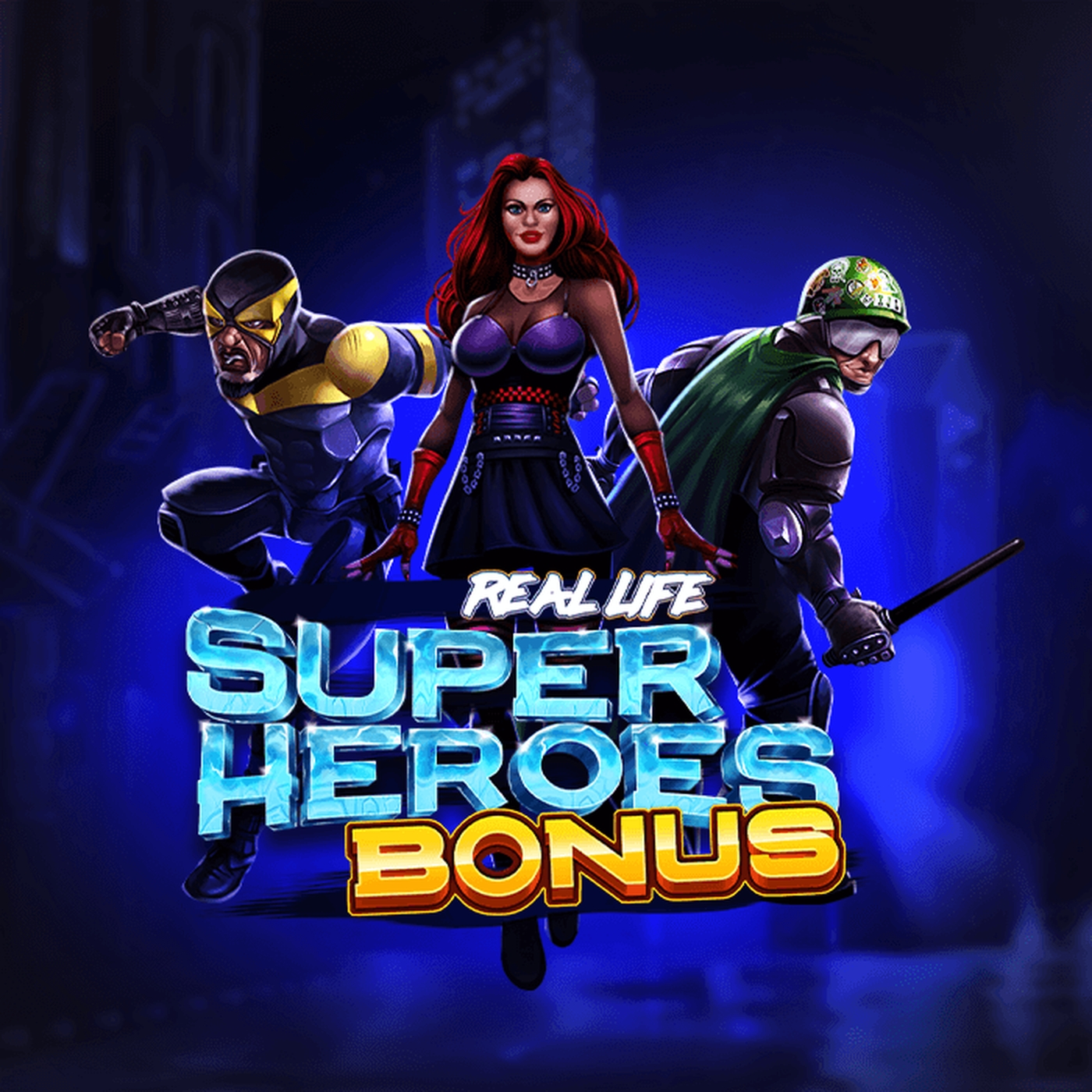 The Real Life Super Heroes Online Slot Demo Game by Spinmatic