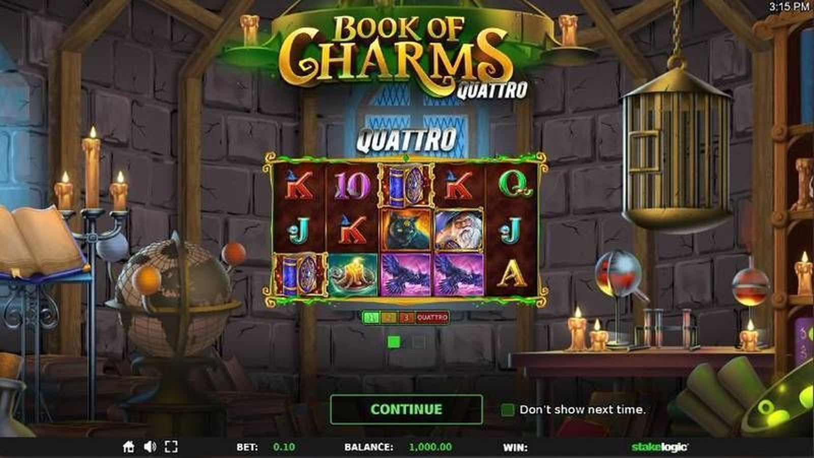 The Book of Charms Online Slot Demo Game by StakeLogic