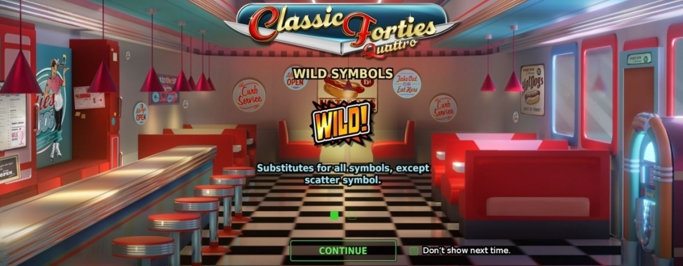 The Classic Forties Quattro Online Slot Demo Game by StakeLogic