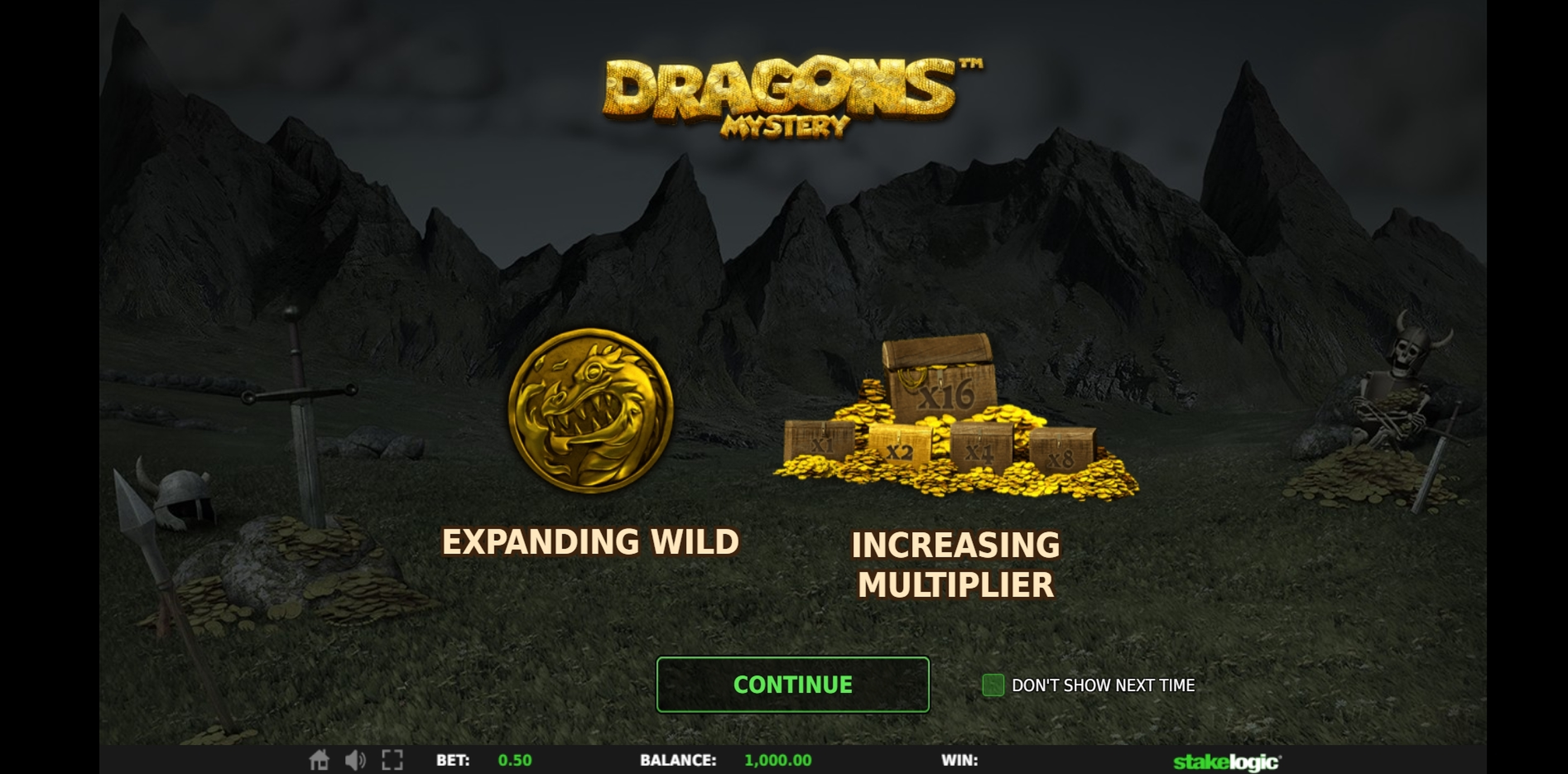 Play Dragons Mystery Free Casino Slot Game by Stakelogic