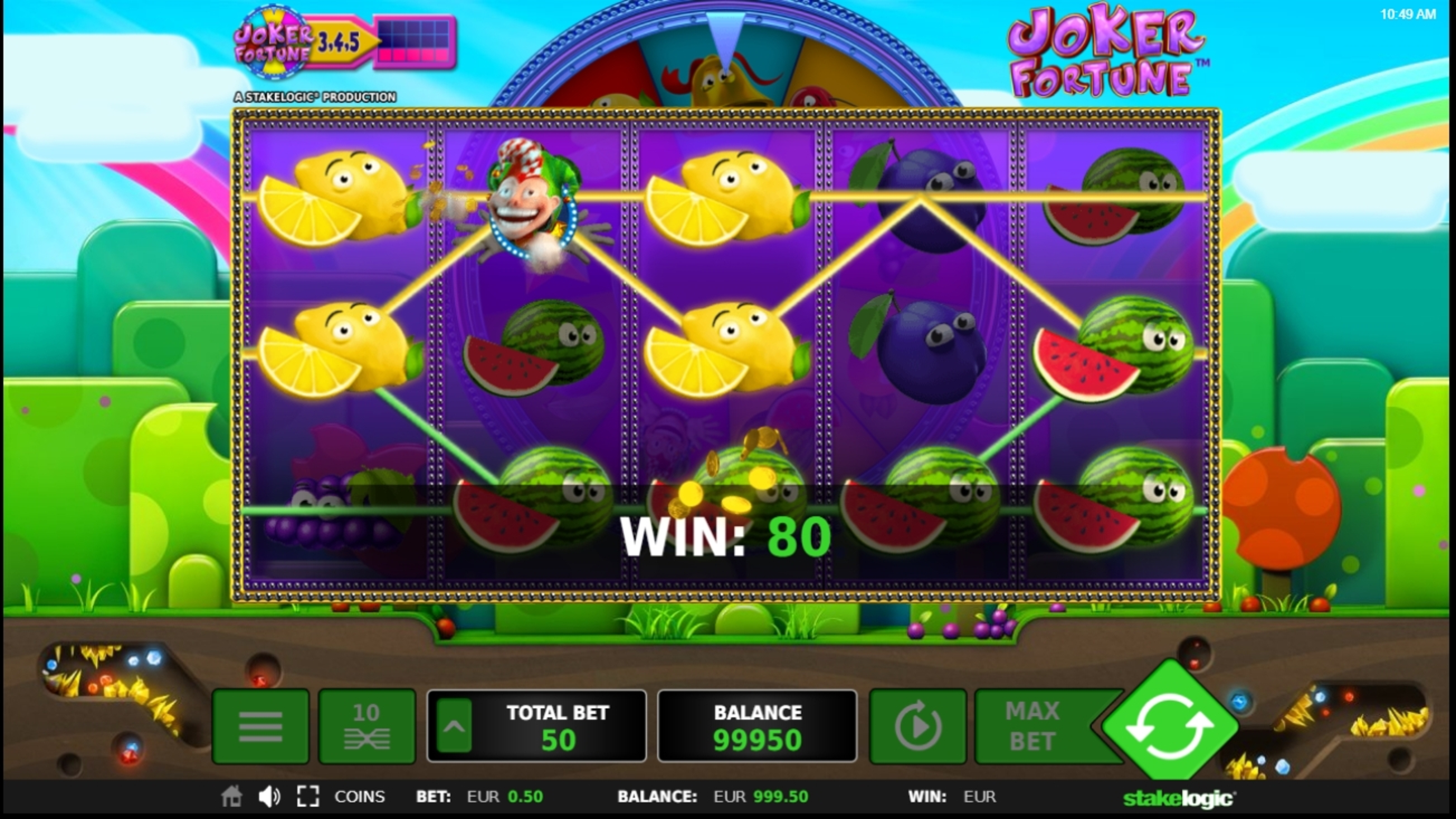 Win Money in Joker Fortune Free Slot Game by StakeLogic