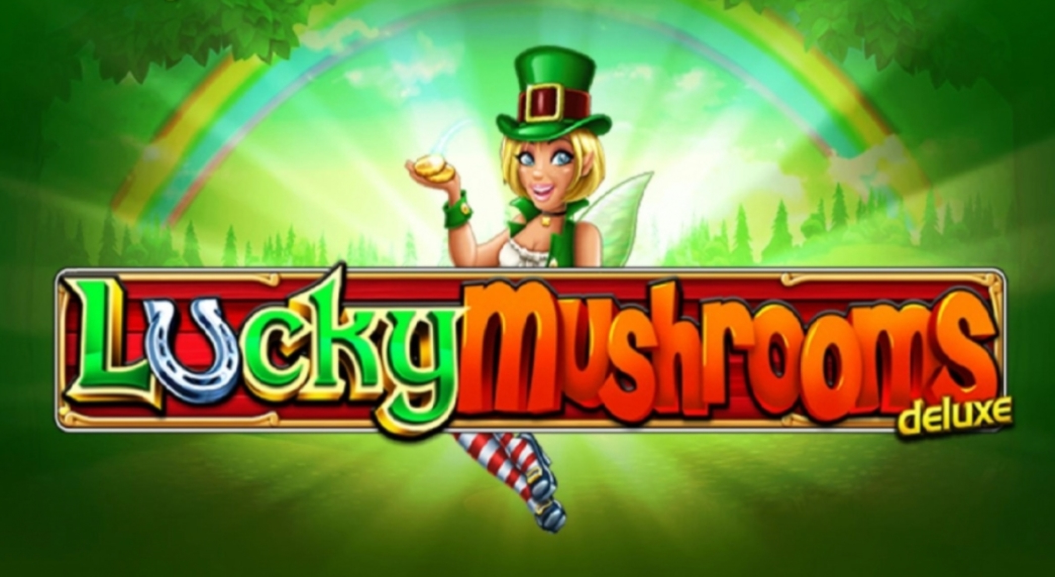 The Lucky Mushrooms Deluxe Online Slot Demo Game by StakeLogic