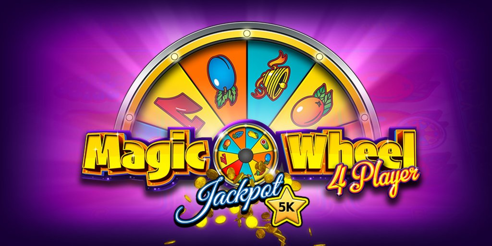 Reels in Magic Wheel 4 Player Slot Game by StakeLogic
