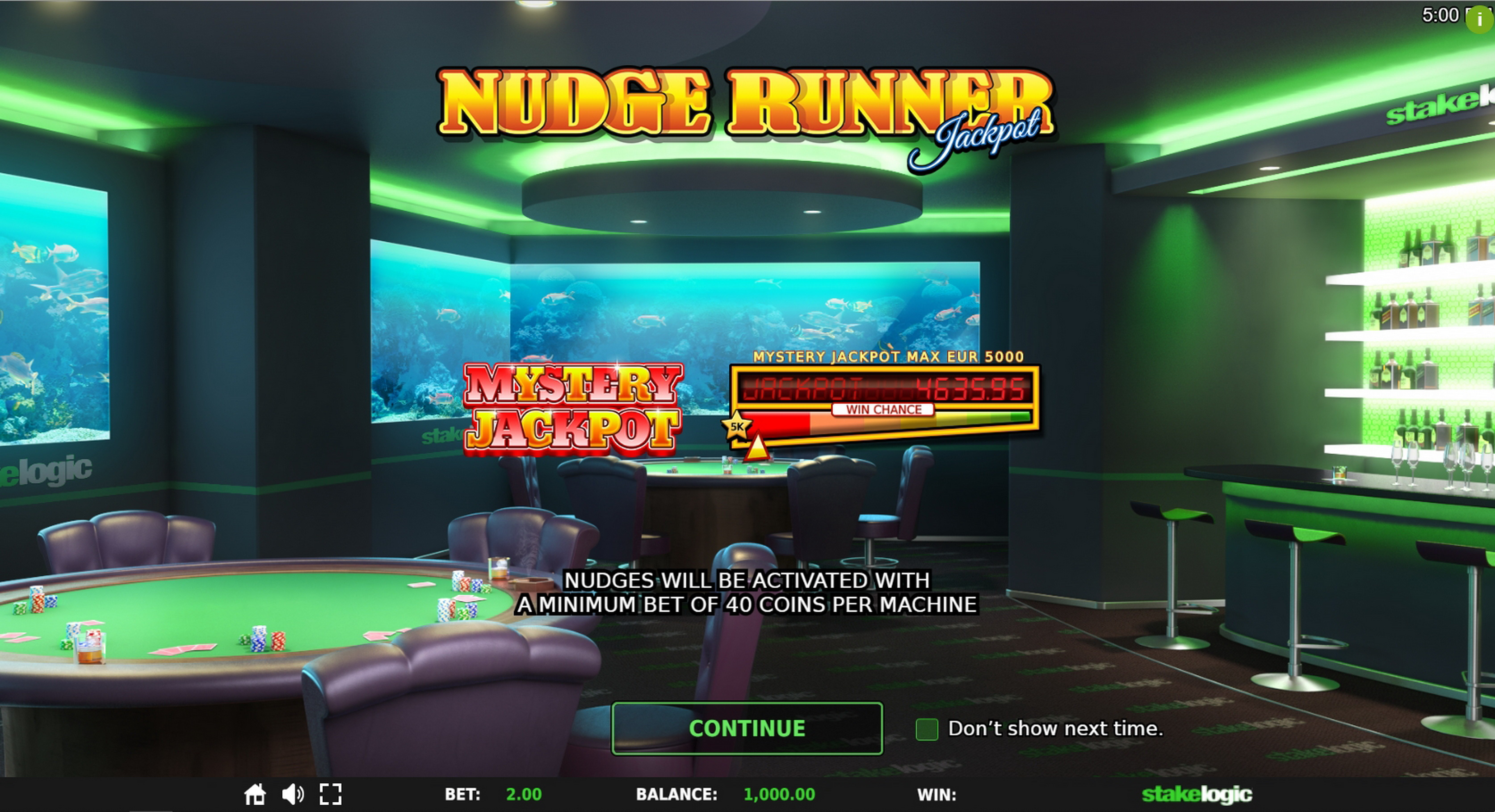 Play Nudge Runner Free Casino Slot Game by StakeLogic